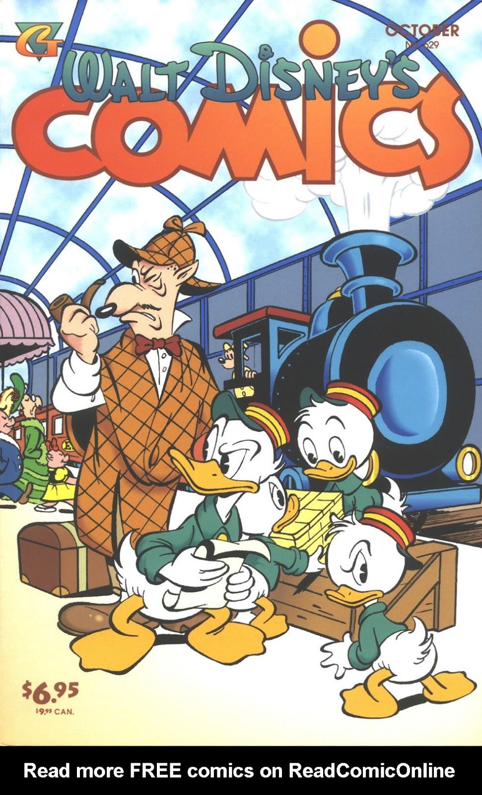 Walt Disneys Comics and Stories 629 Page 1