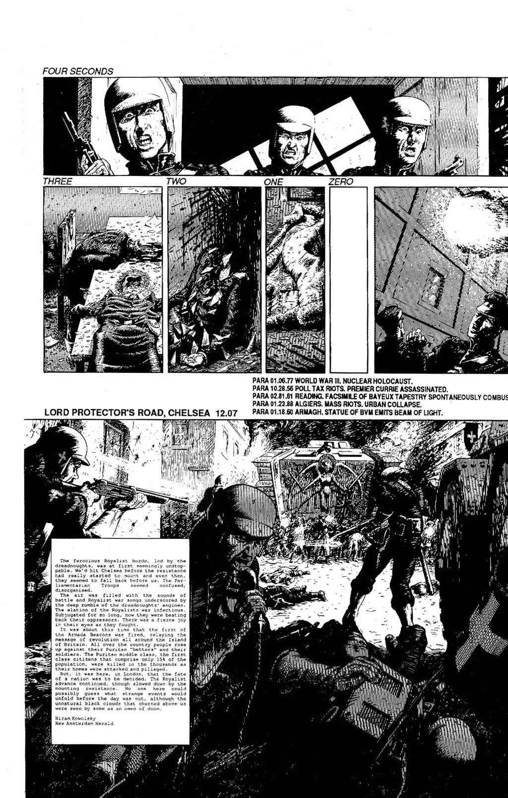 Read online The Adventures of Luther Arkwright comic -  Issue #8 - 19