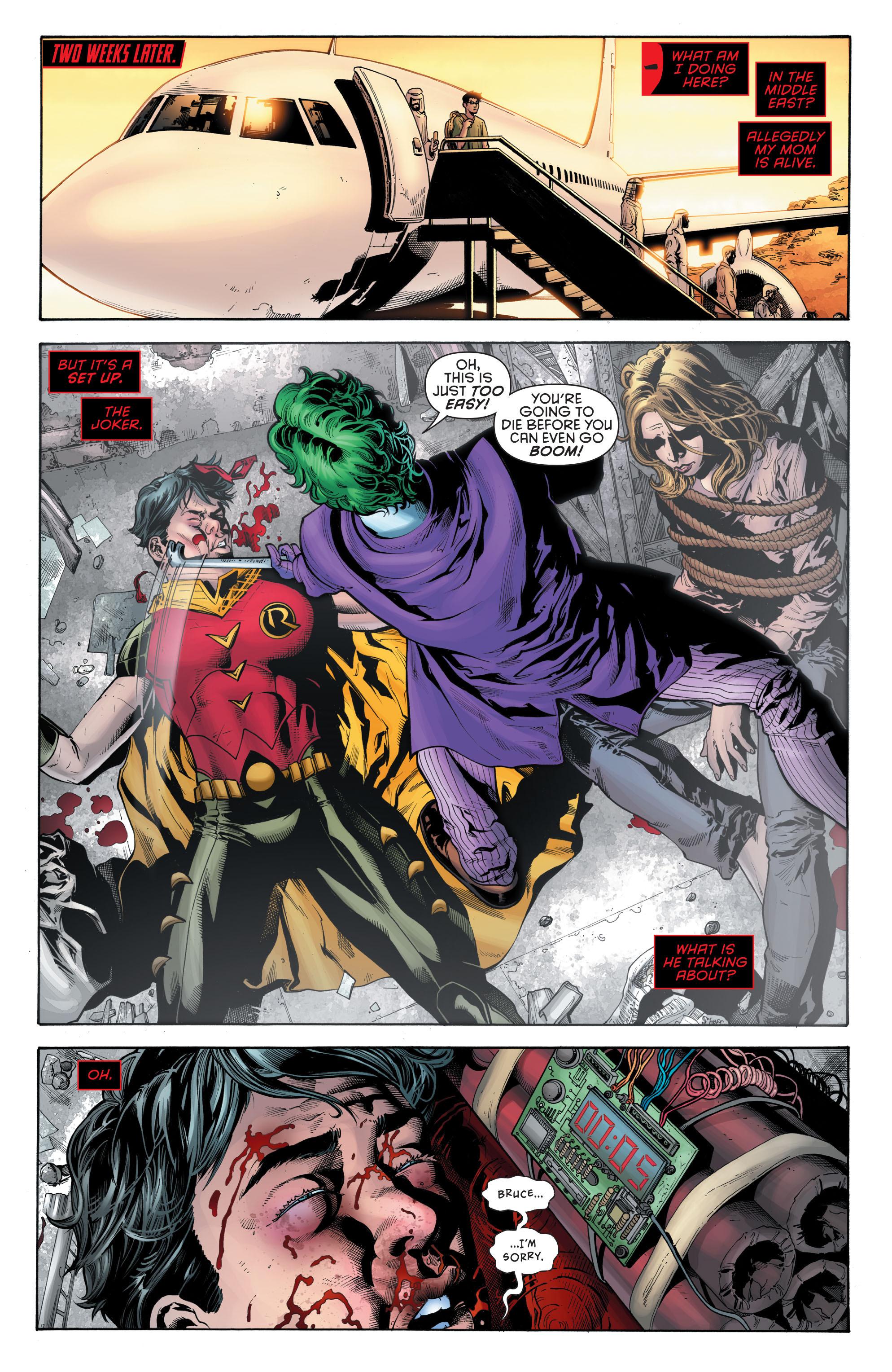 Read online Secret Origins (2014) comic -  Issue #5 - 19