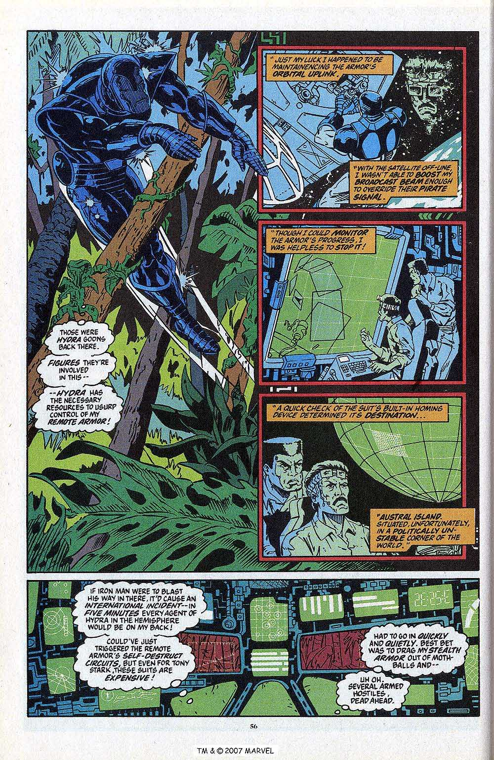 Iron Man Annual issue 13 - Page 58