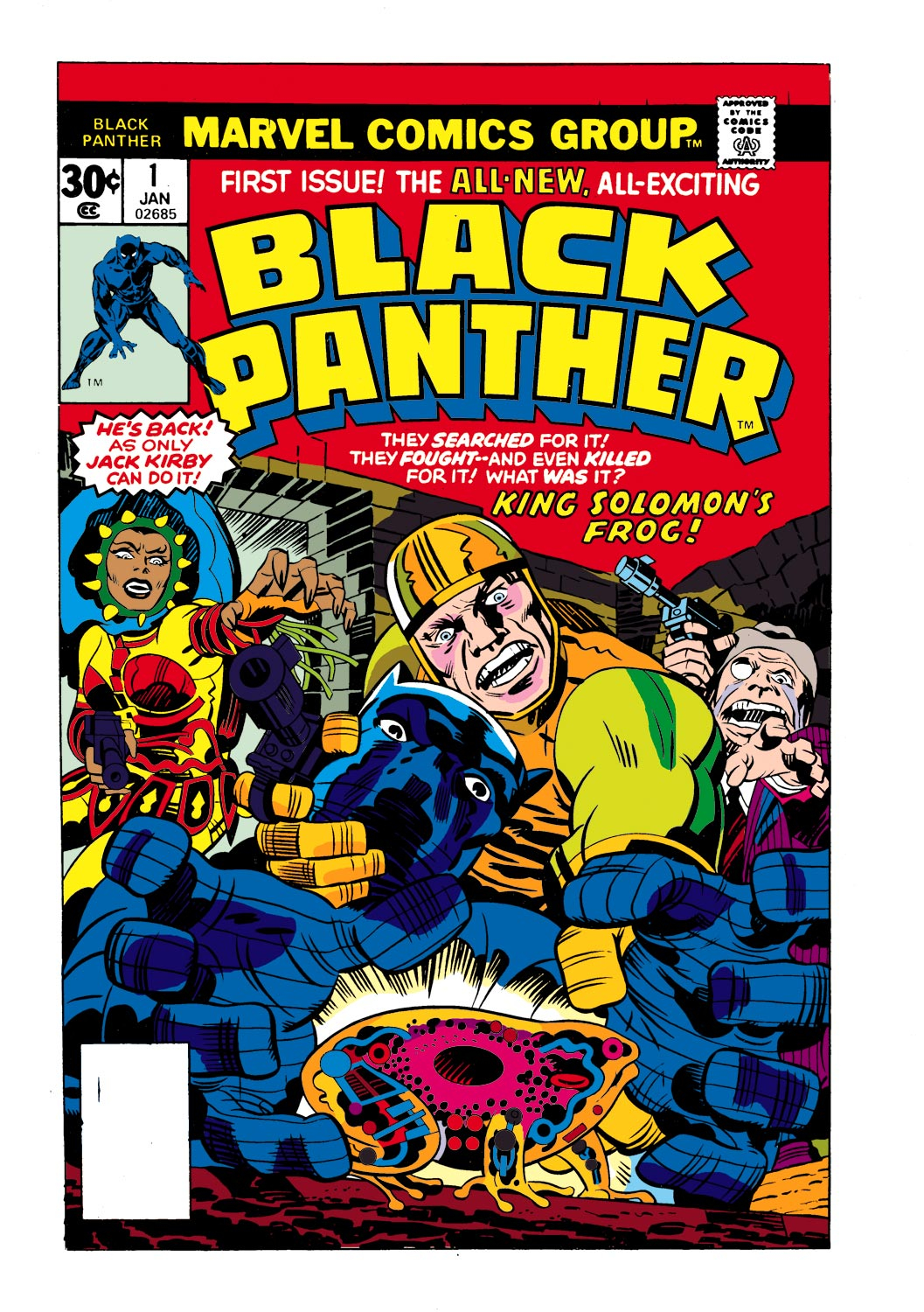Black Panther (1977) issue 1 - Page 1