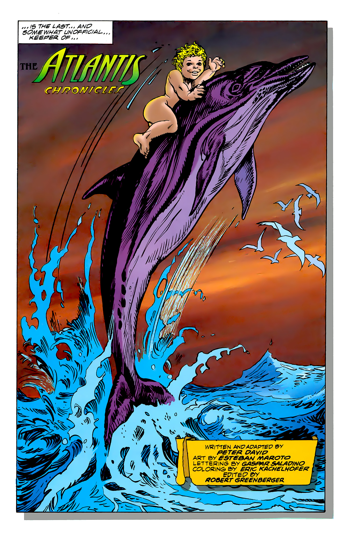Read online Atlantis Chronicles comic -  Issue #7 - 44