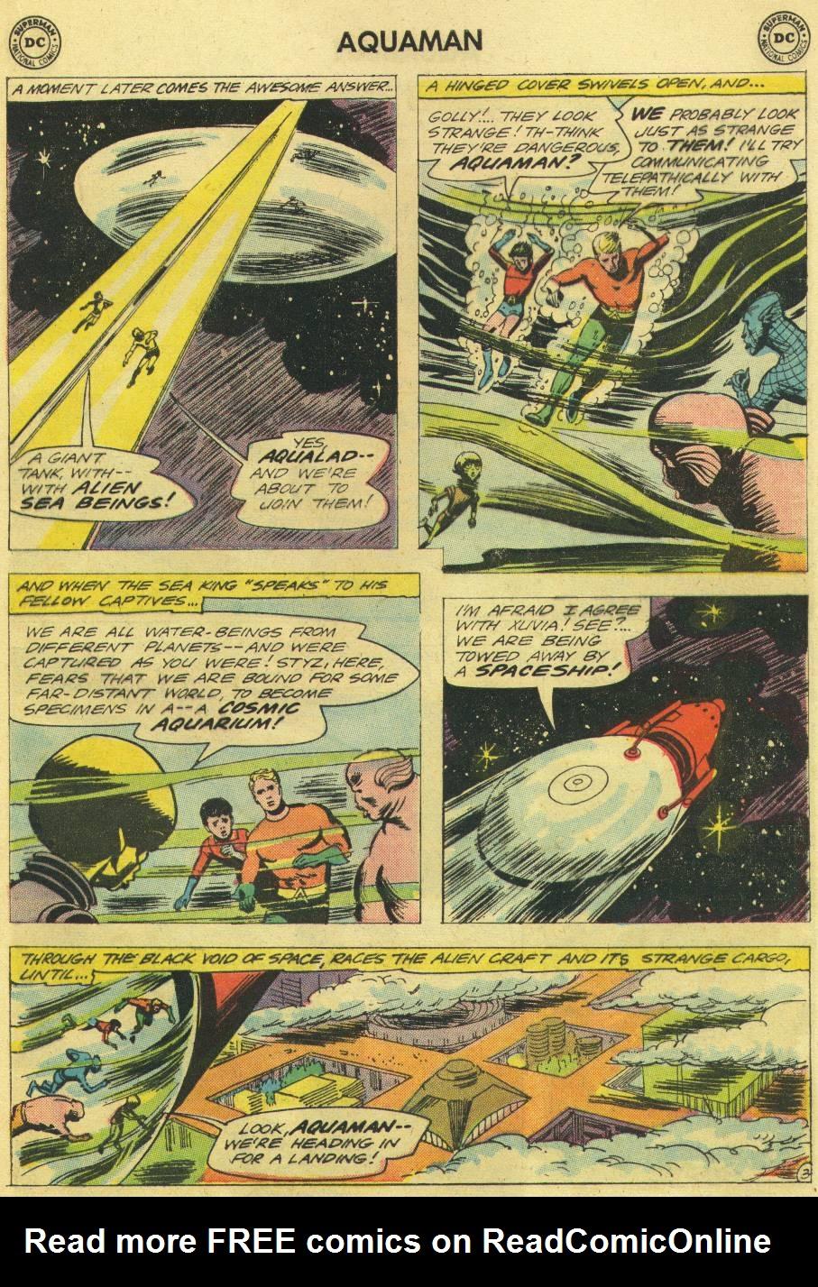 Read online Aquaman (1962) comic -  Issue #12 - 21