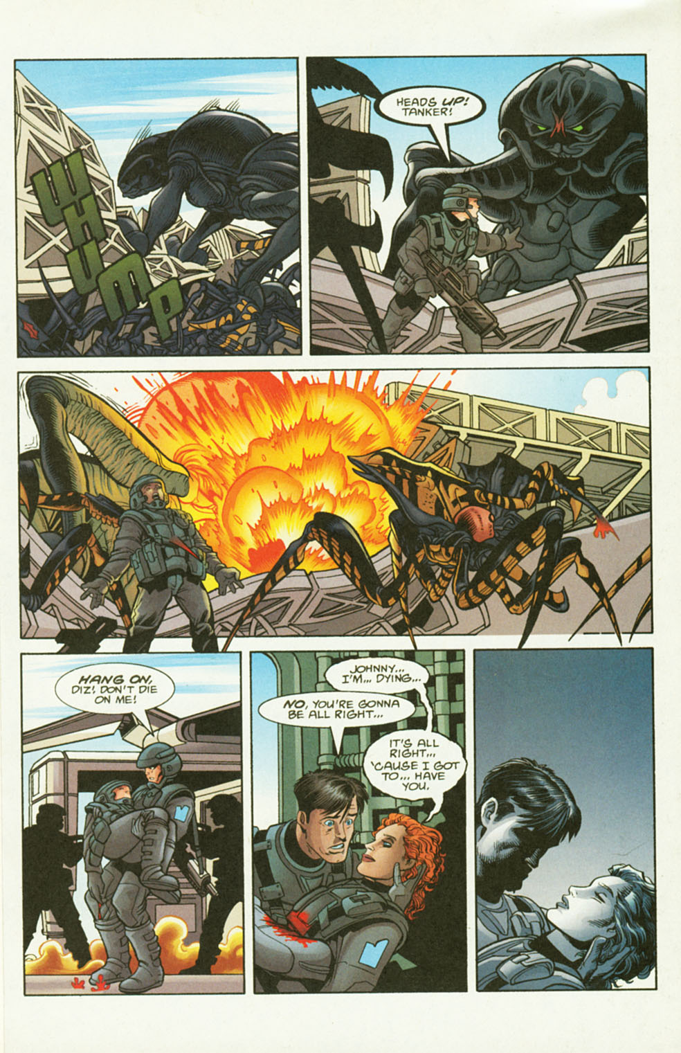 Read online Starship Troopers comic -  Issue #2 - 15