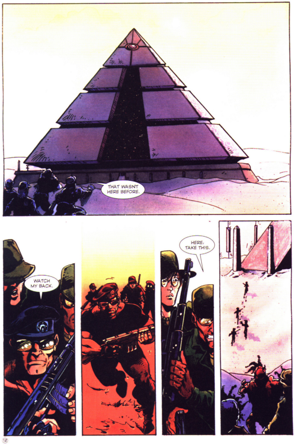 Read online Stargate comic -  Issue #2 - 14