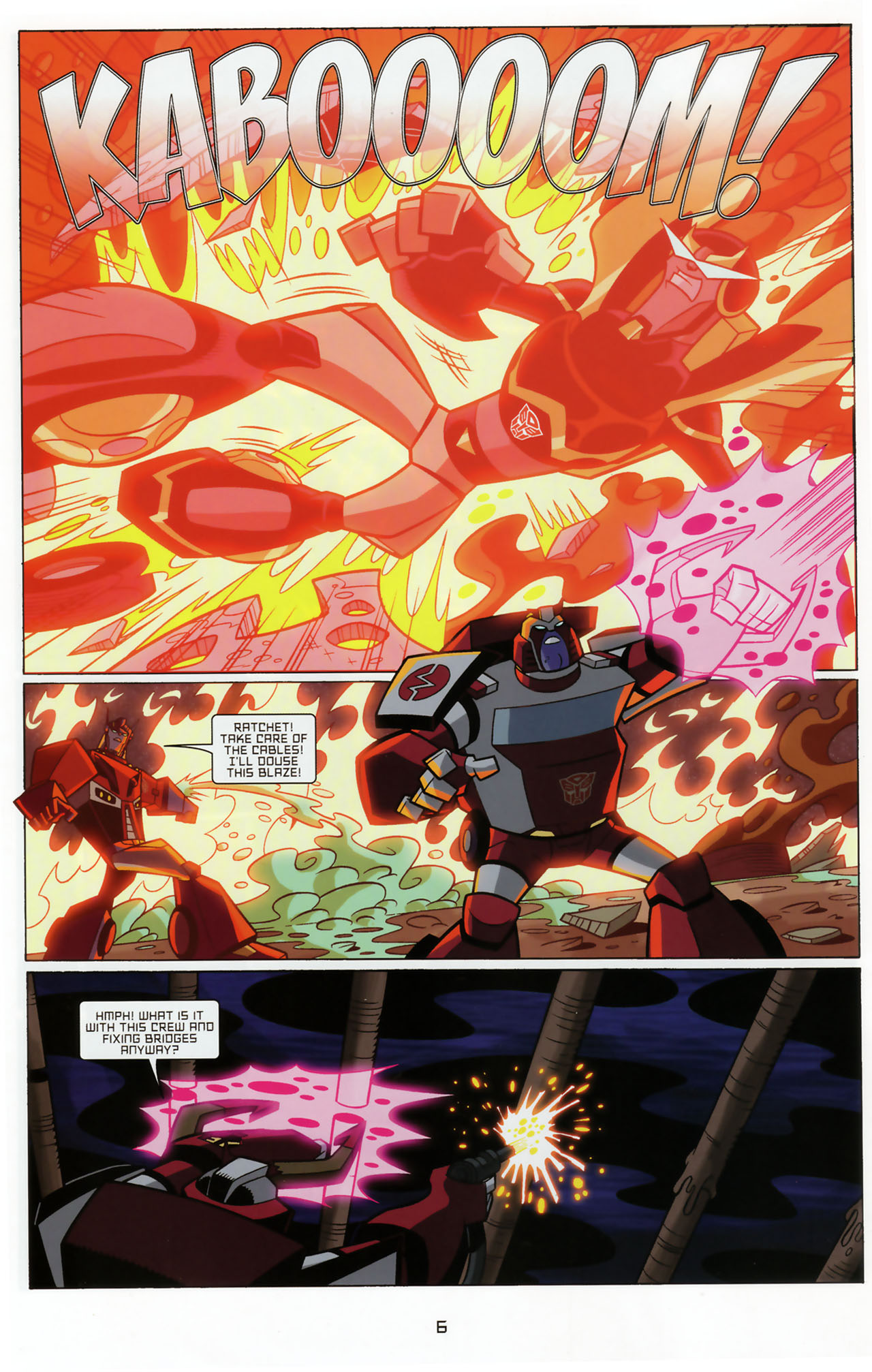 Read online Transformers Animated: The Arrival comic -  Issue #3 - 8
