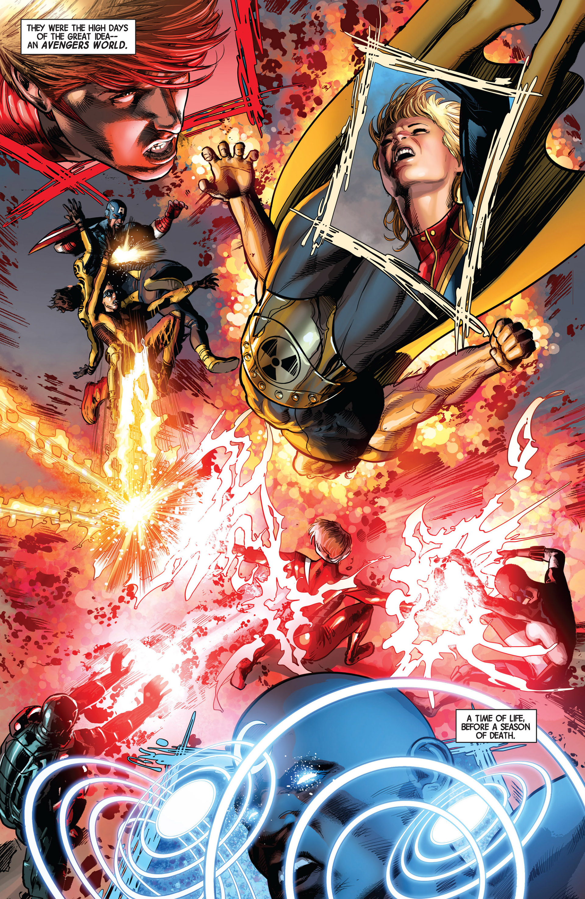 Read online Avengers (2013) comic -  Issue #9 - 19