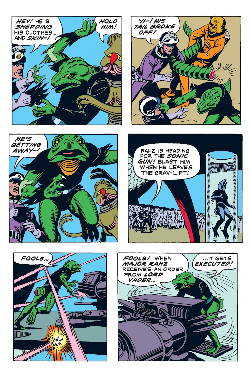 Read online Star Wars Legends: The Newspaper Strips - Epic Collection comic -  Issue # TPB (Part 3) - 27