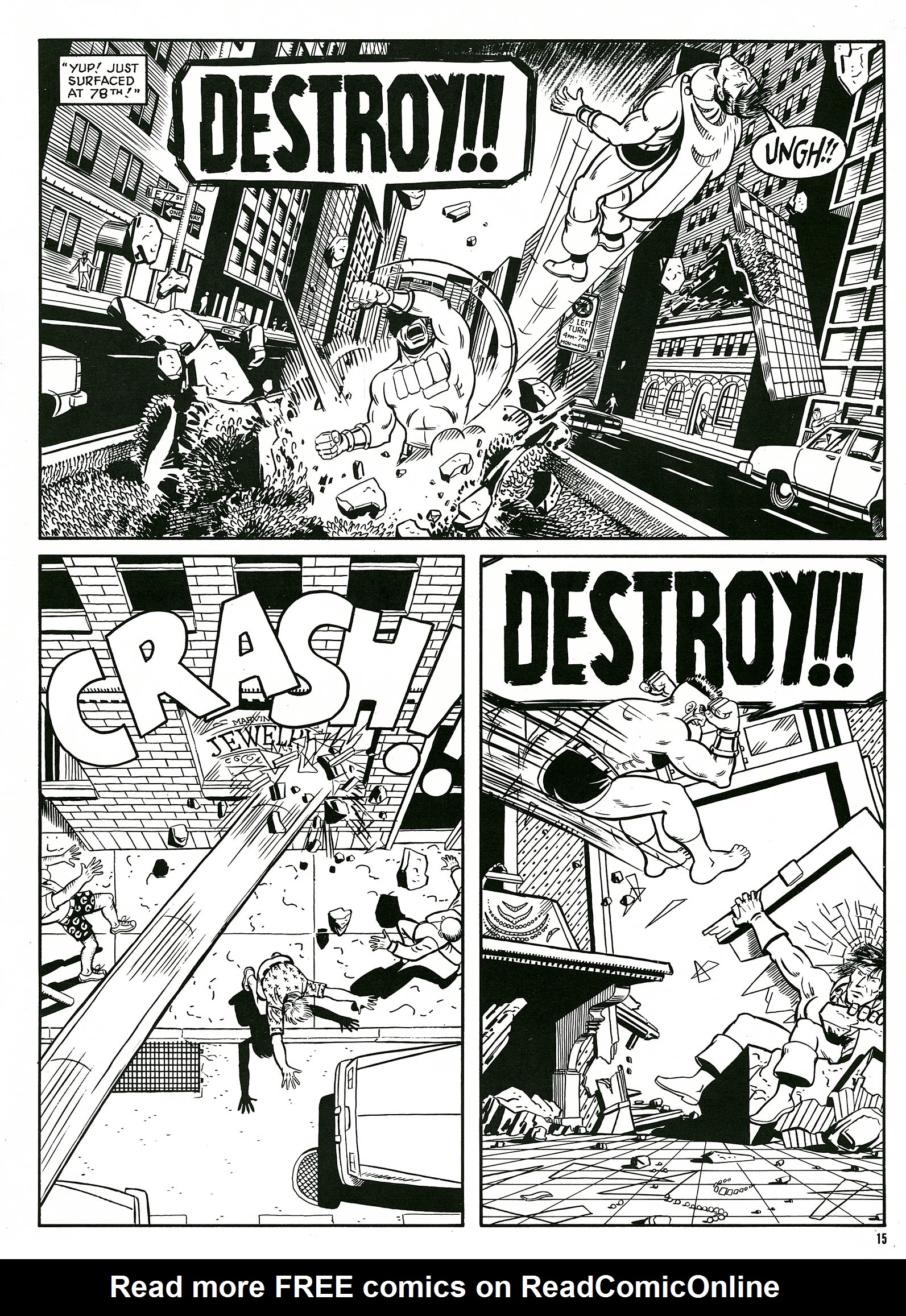 Read online Destroy!! comic -  Issue # Full - 17