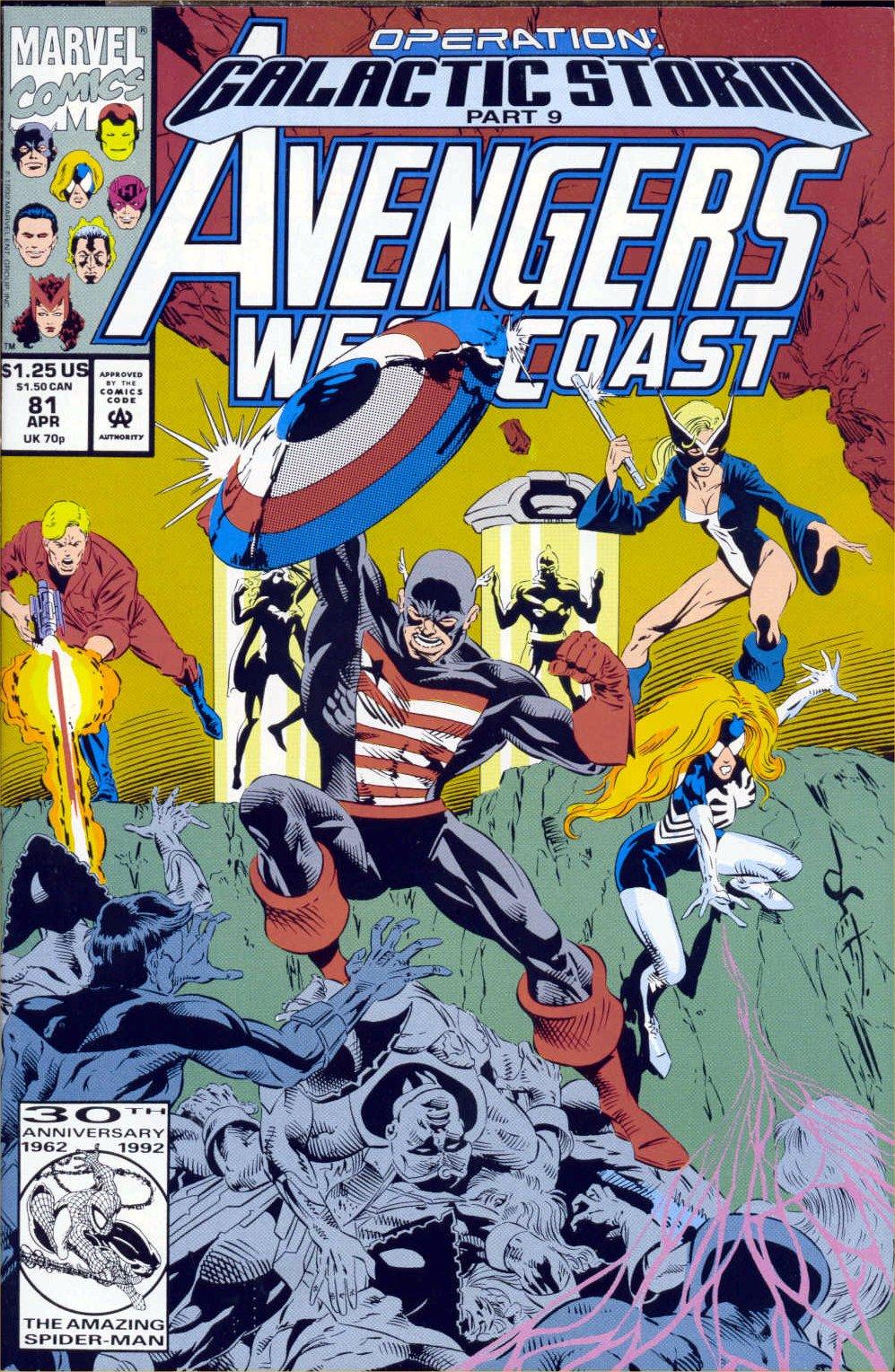 Avengers West Coast (1989) 81 Page 1