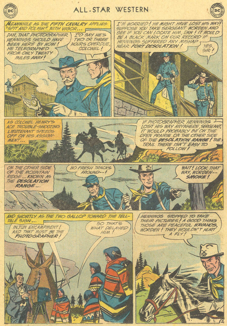 Read online All-Star Western (1951) comic -  Issue #114 - 17