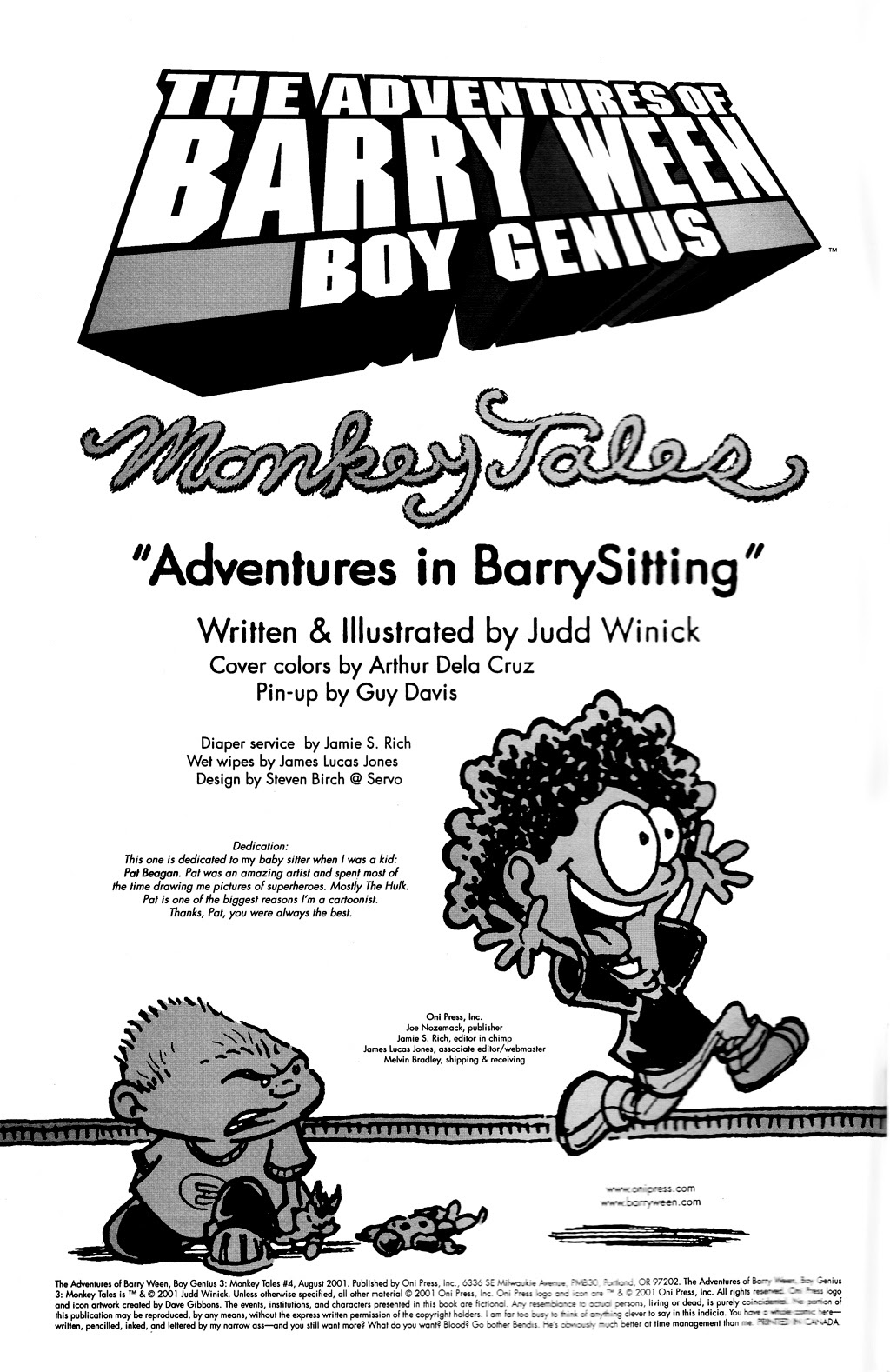 Read online The Adventures of Barry Ween, Boy Genius 3: Monkey Tales comic -  Issue #4 - 2