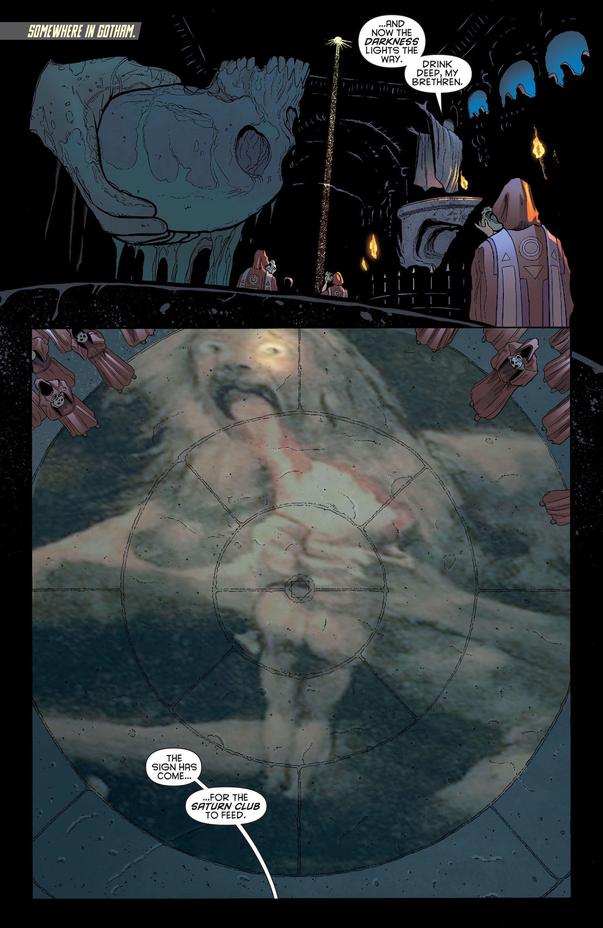 Read online Batman and Robin (2011) comic -  Issue #13 - 9