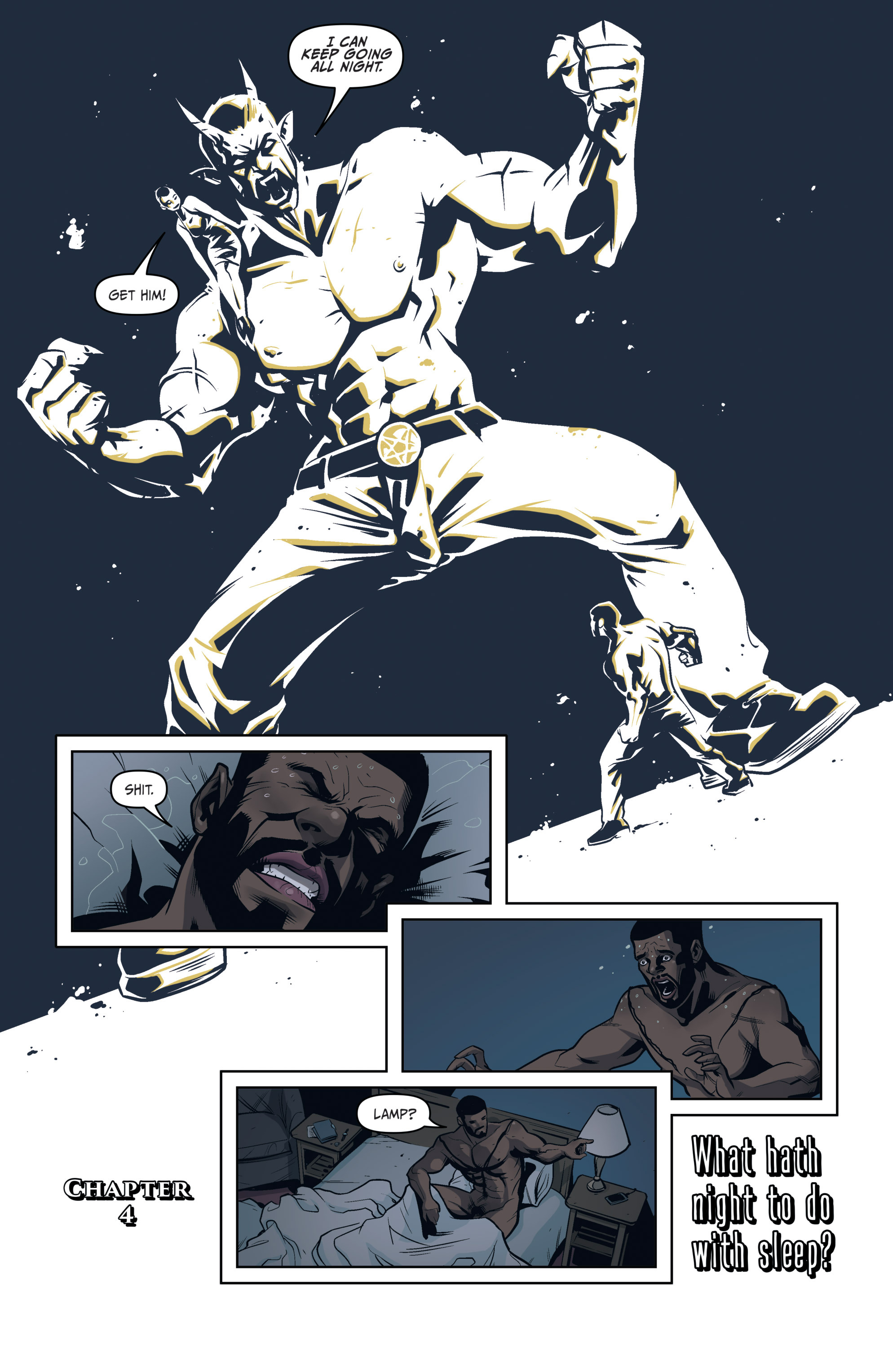 Read online Darkness Visible comic -  Issue #4 - 6