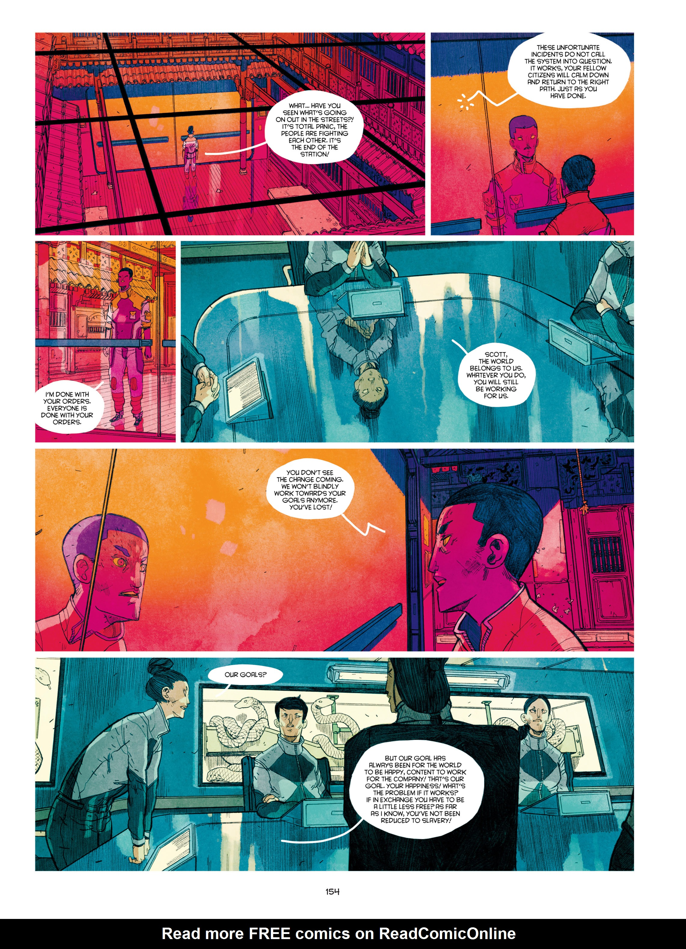 Read online Shangri-La comic -  Issue # Full - 155