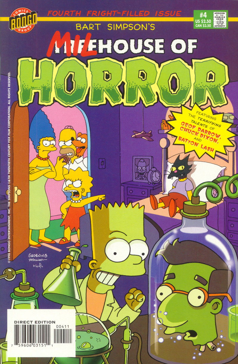 Read online Treehouse of Horror comic -  Issue #4 - 1