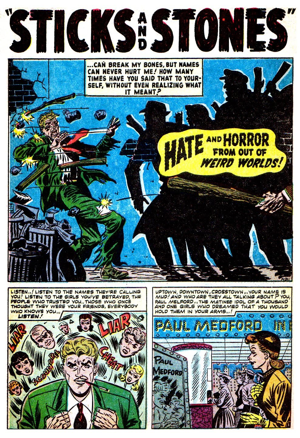 Read online Adventures into Weird Worlds comic -  Issue #8 - 22