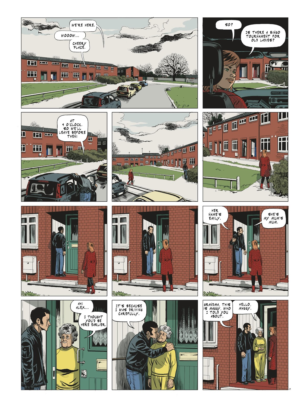 Read online Maggy Garrisson comic -  Issue #3 - 19