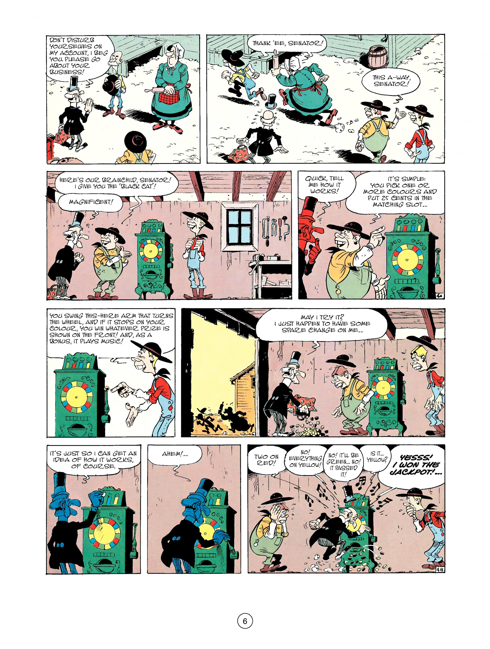 Read online A Lucky Luke Adventure comic -  Issue #33 - 6
