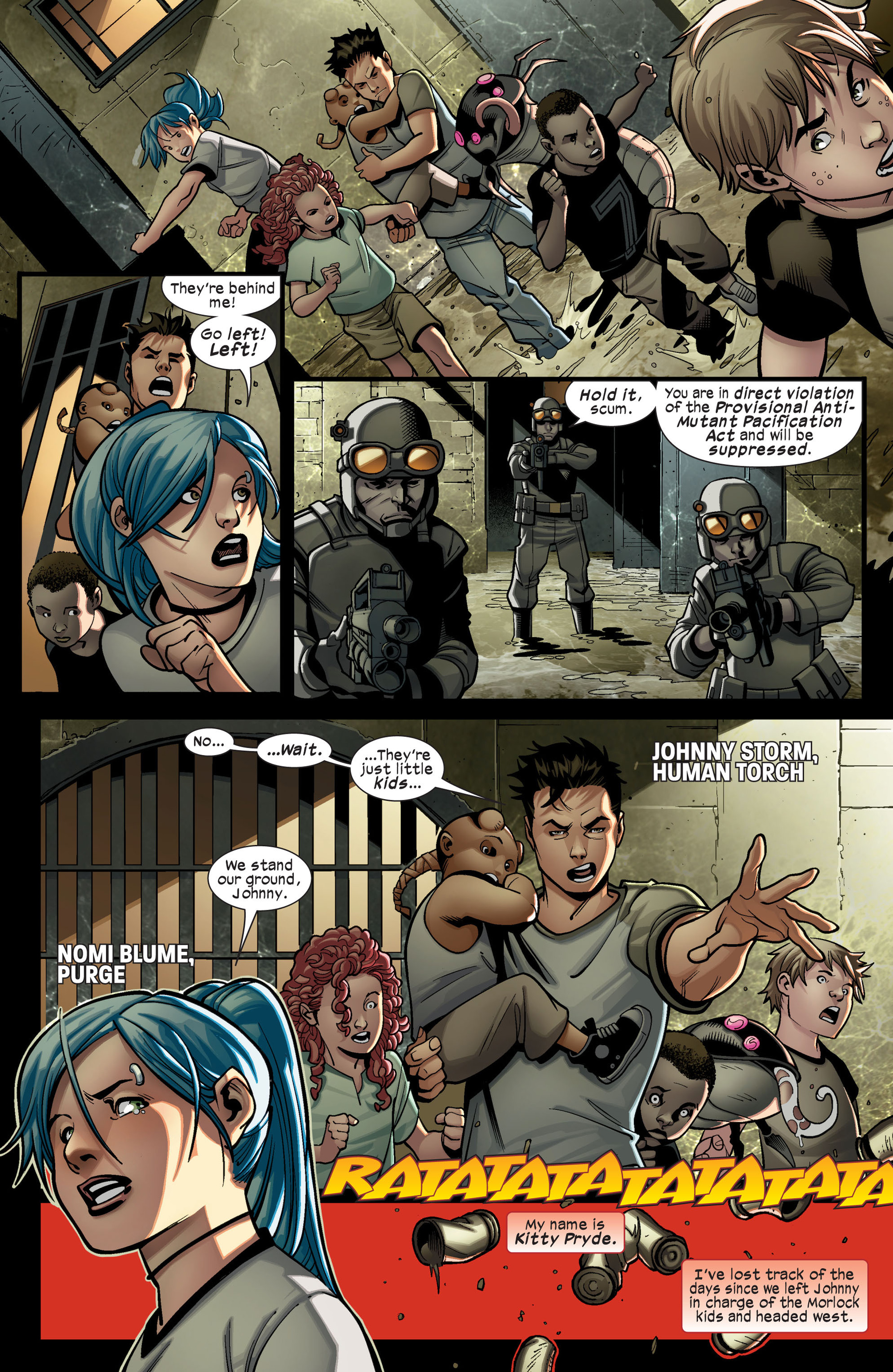 Read online Ultimate Comics X-Men comic -  Issue #14 - 6