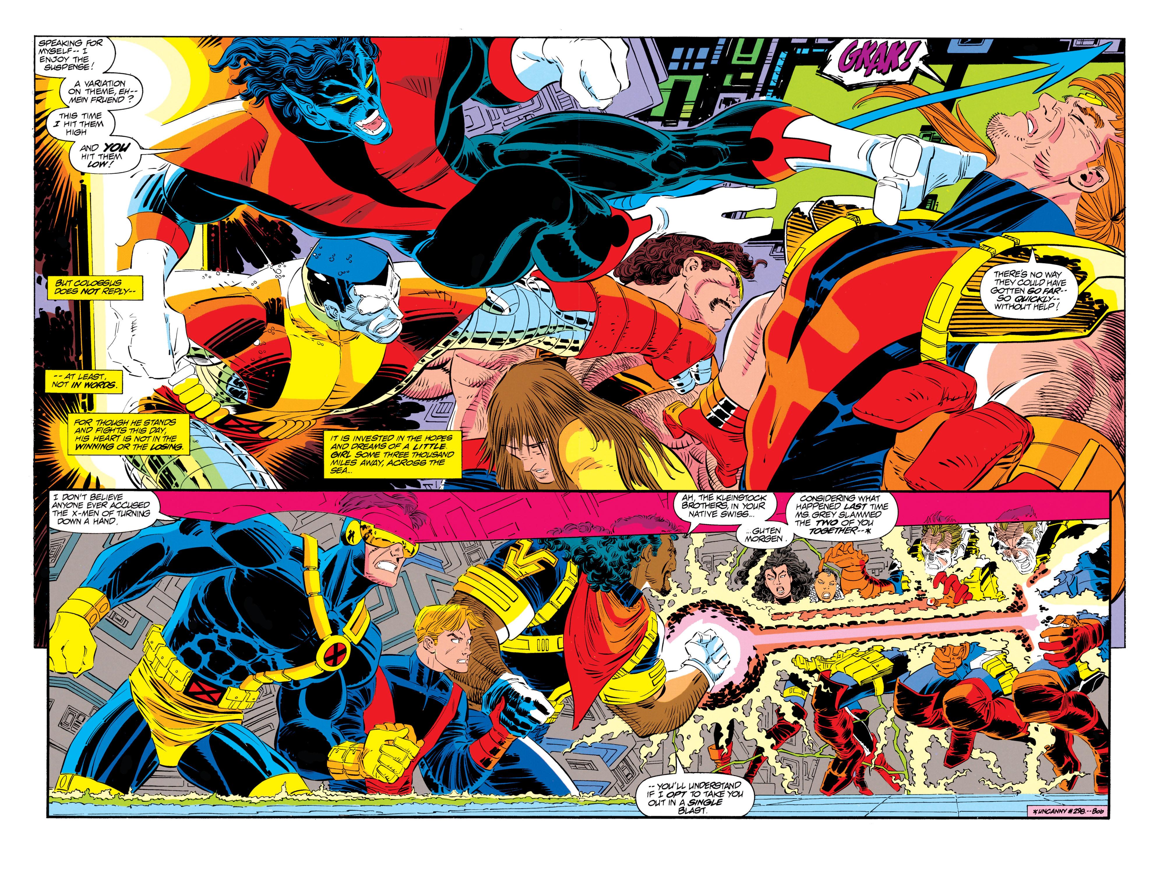 Read online Uncanny X-Men (1963) comic -  Issue #300 - 31
