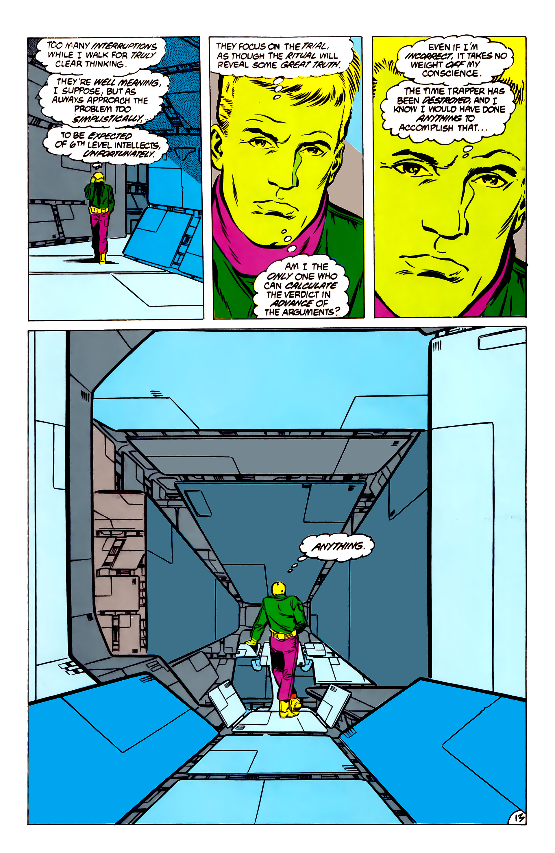 Legion of Super-Heroes (1984) 51 Page 13