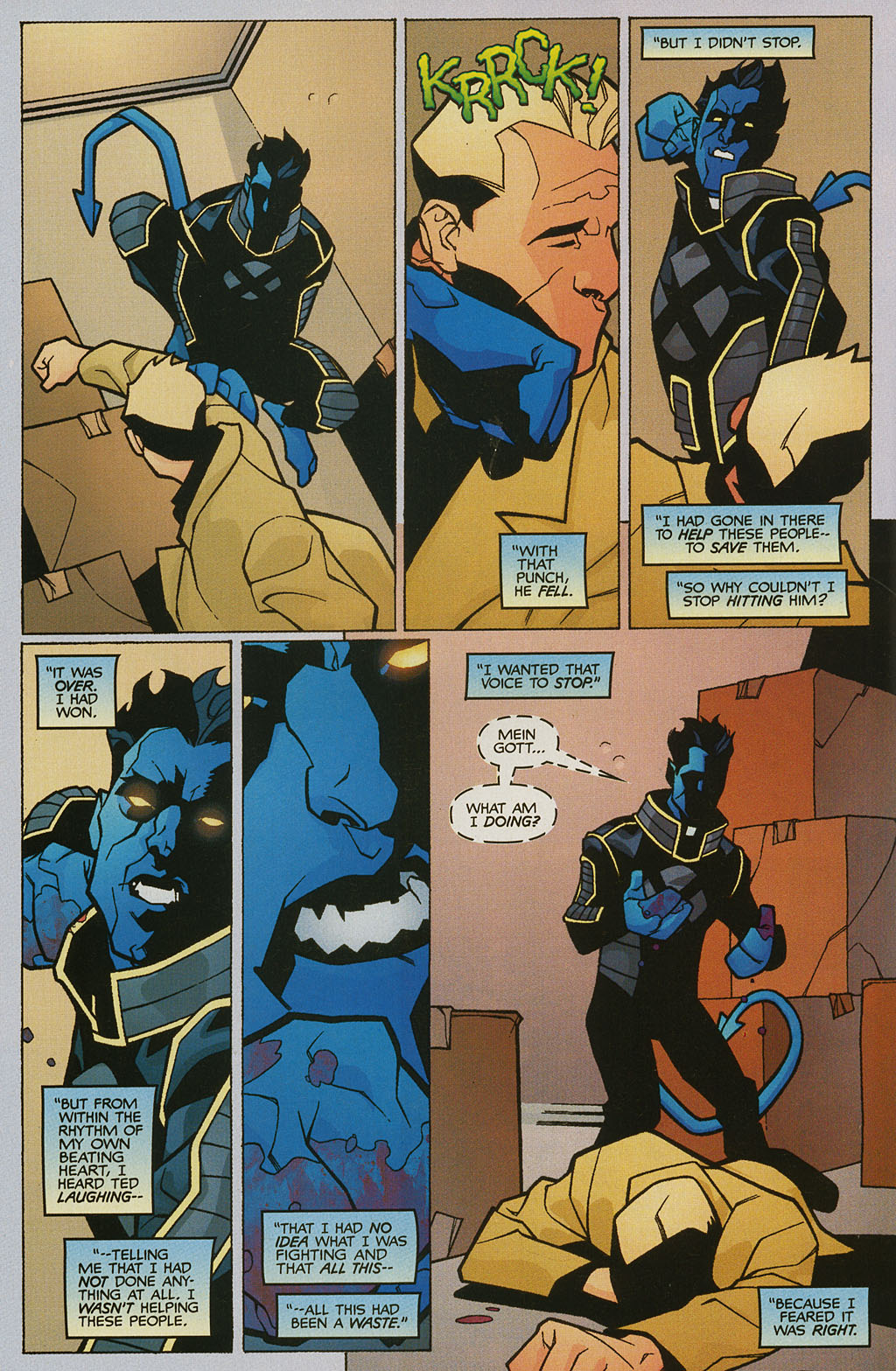 Read online Nightcrawler (2002) comic -  Issue #2 - 18