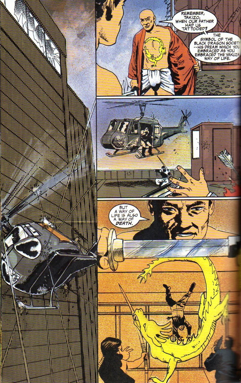 Read online Shado: Song of the Dragon comic -  Issue #4 - 38