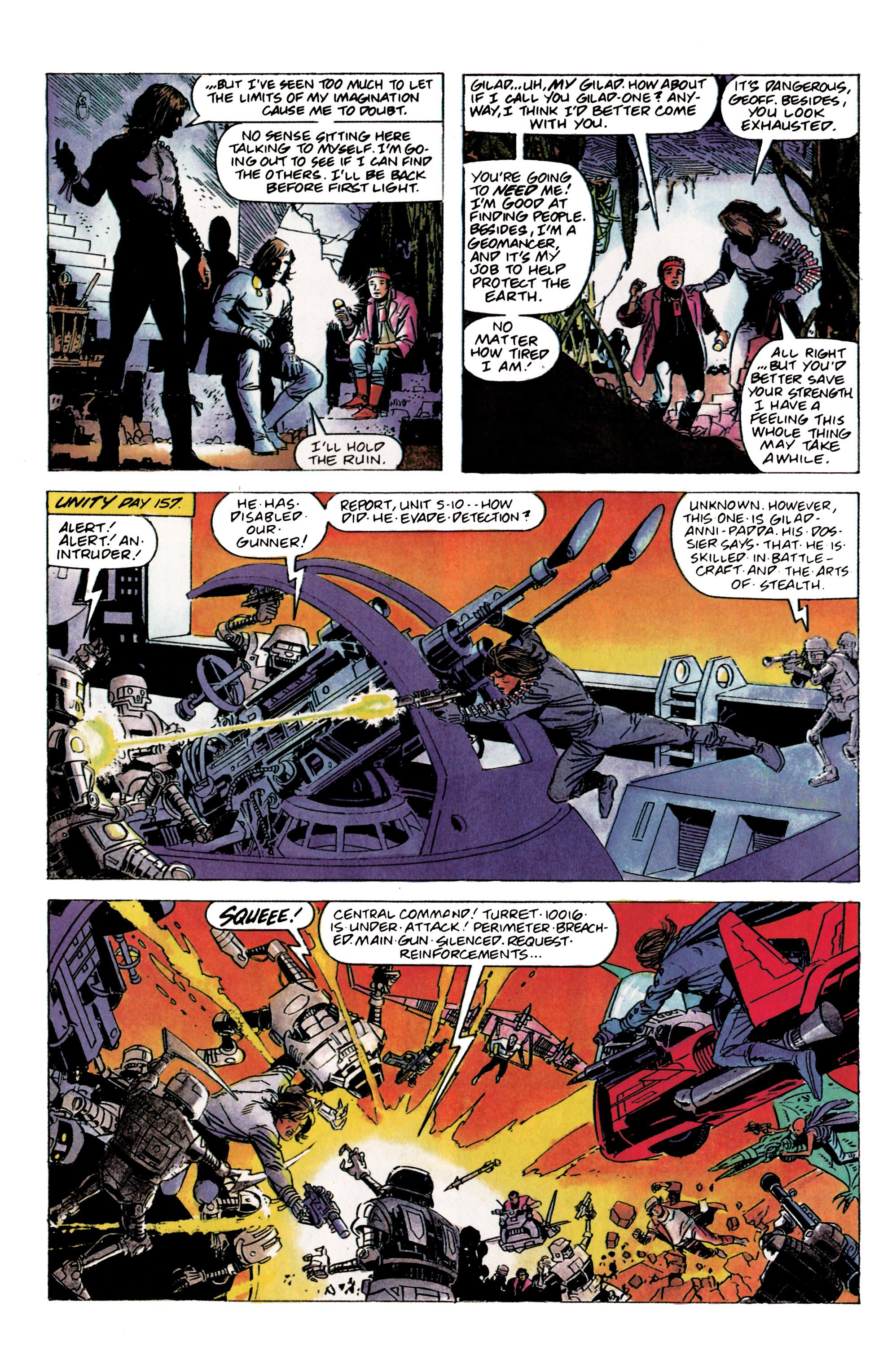 Read online Eternal Warrior (1992) comic -  Issue #2 - 8