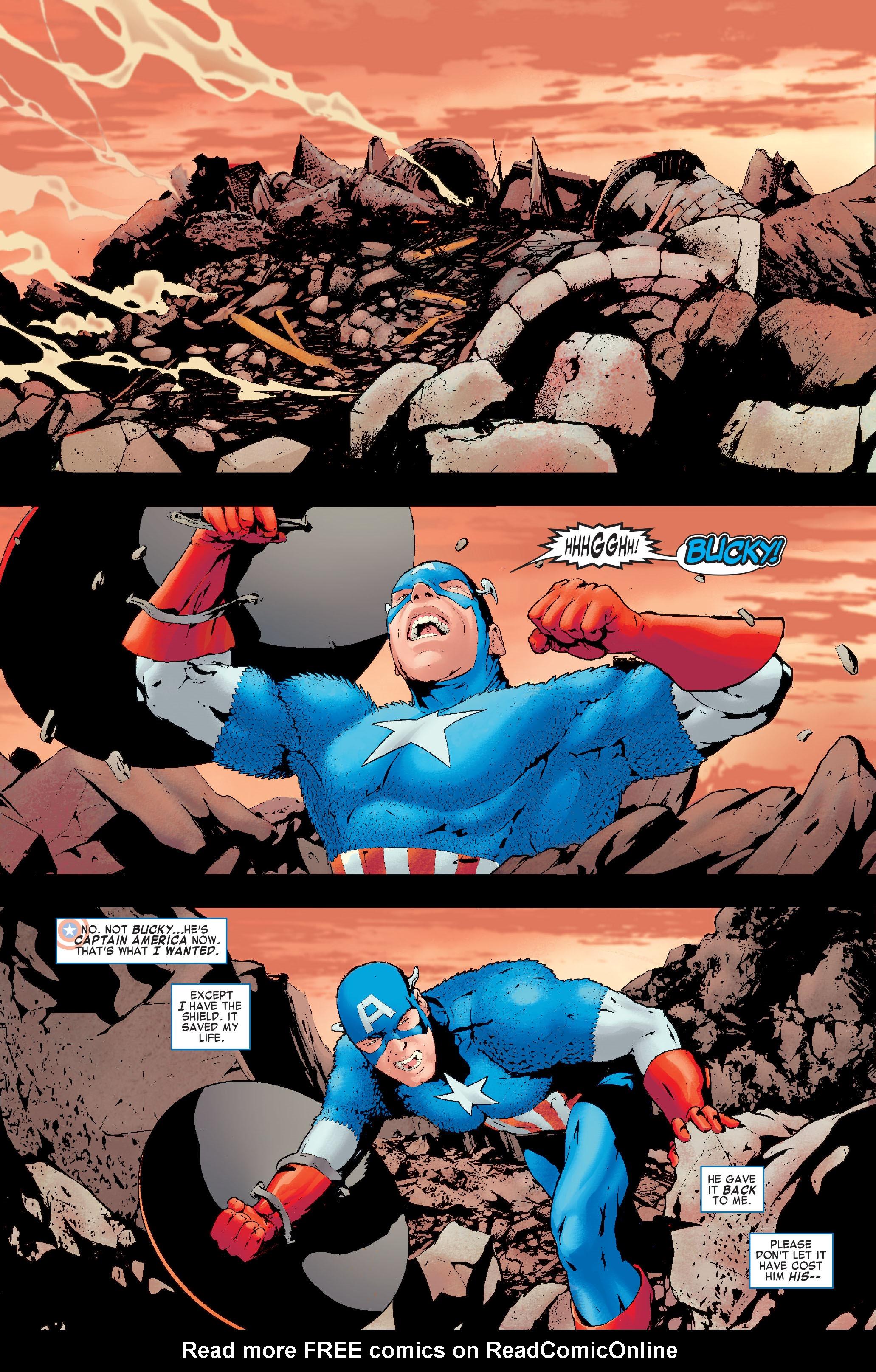 Read online Siege: Captain America comic -  Issue # Full - 8