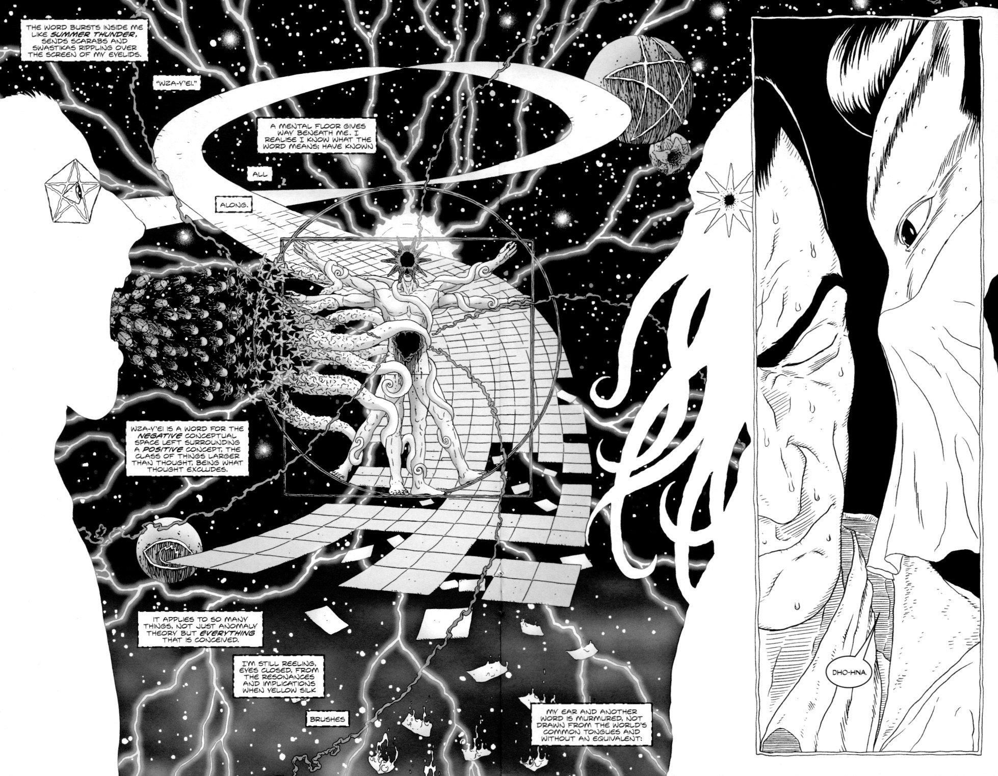 Read online Alan Moore's The Courtyard comic -  Issue #2 - 16