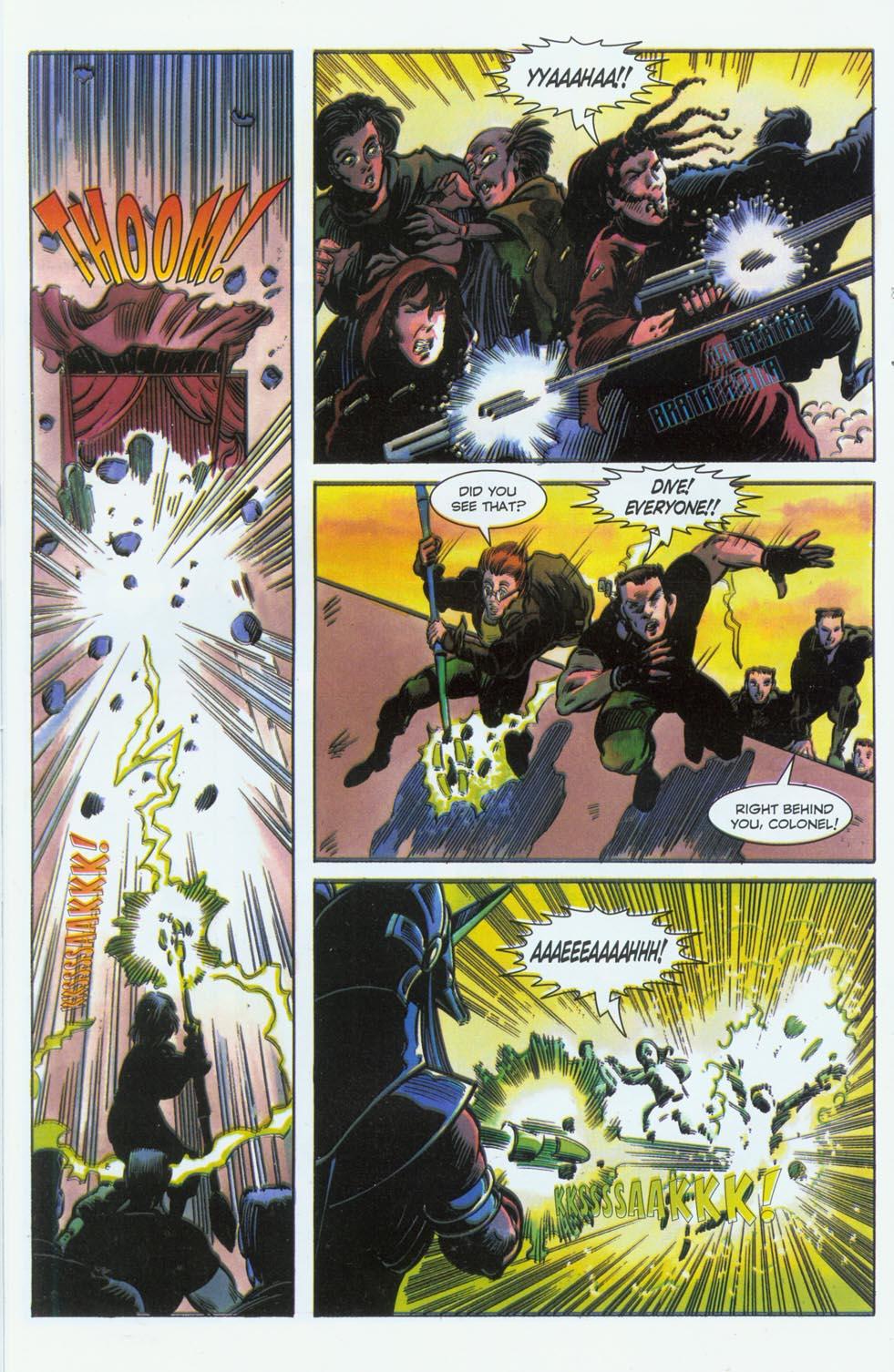 Read online Stargate comic -  Issue #3 - 18