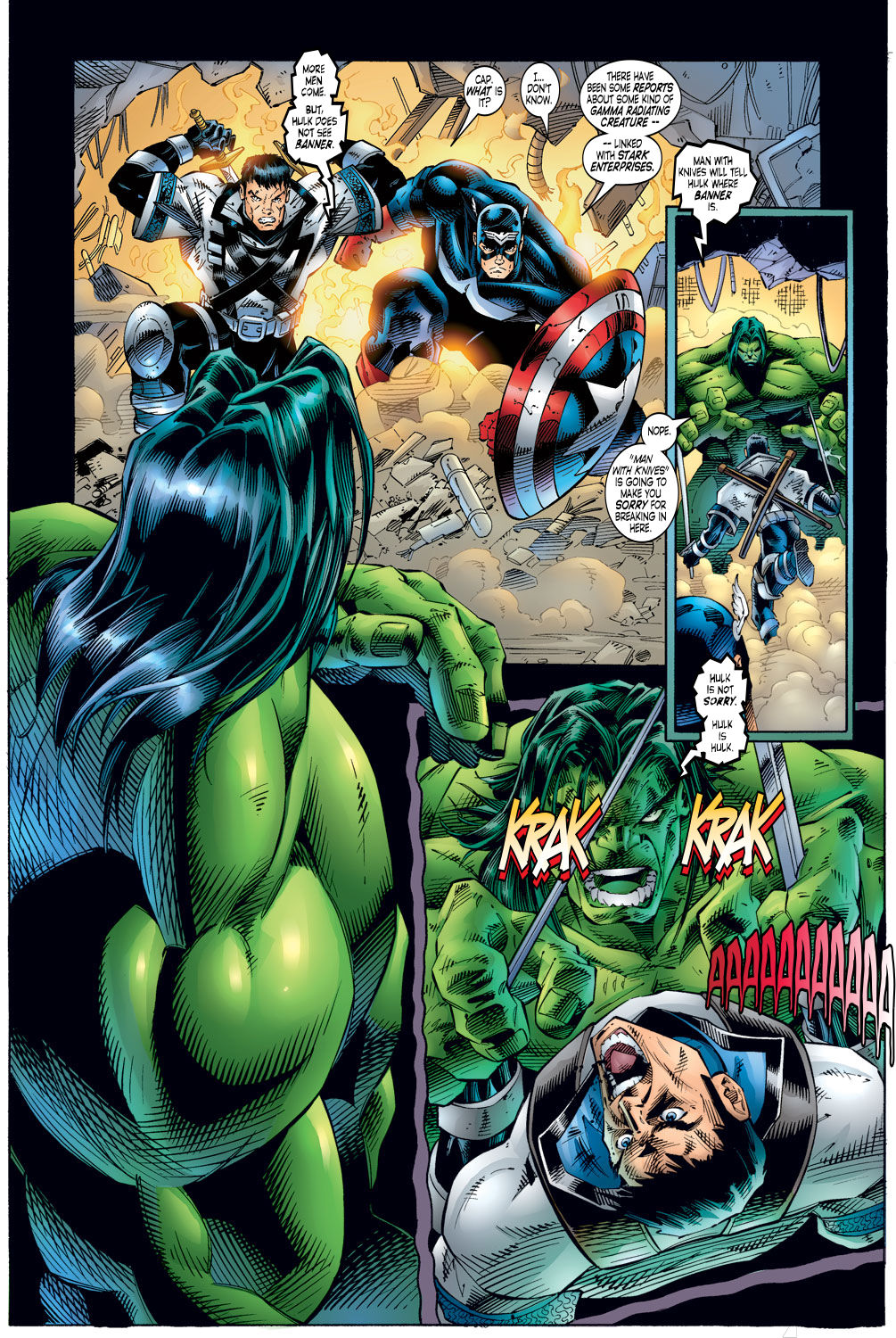 Read online Avengers (1996) comic -  Issue #4 - 19