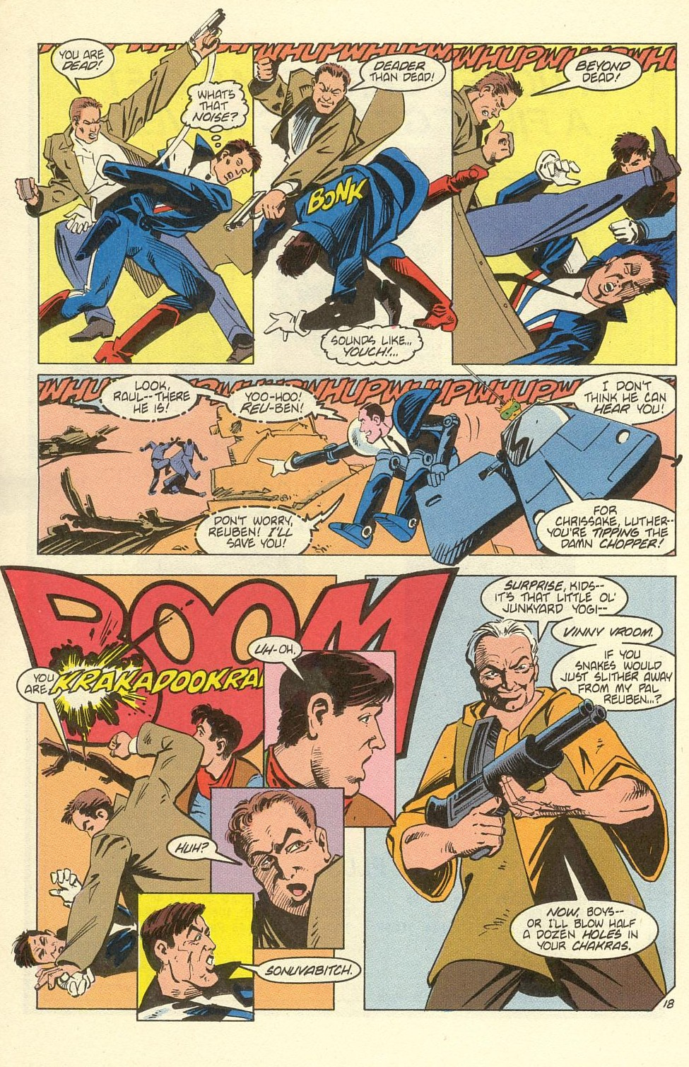 Read online American Flagg! comic -  Issue #39 - 24