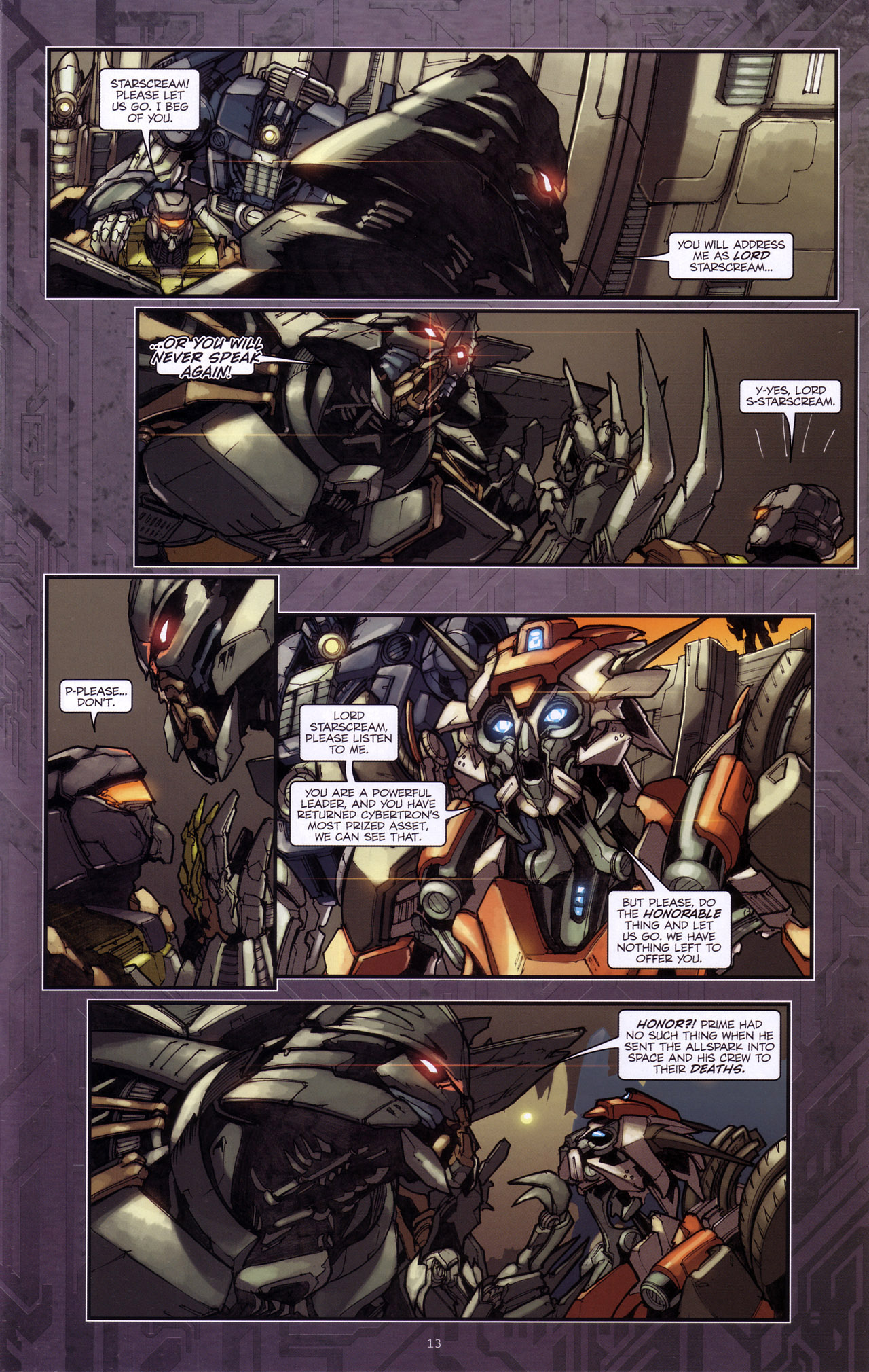 Read online Transformers: The Reign of Starscream comic -  Issue #4 - 15
