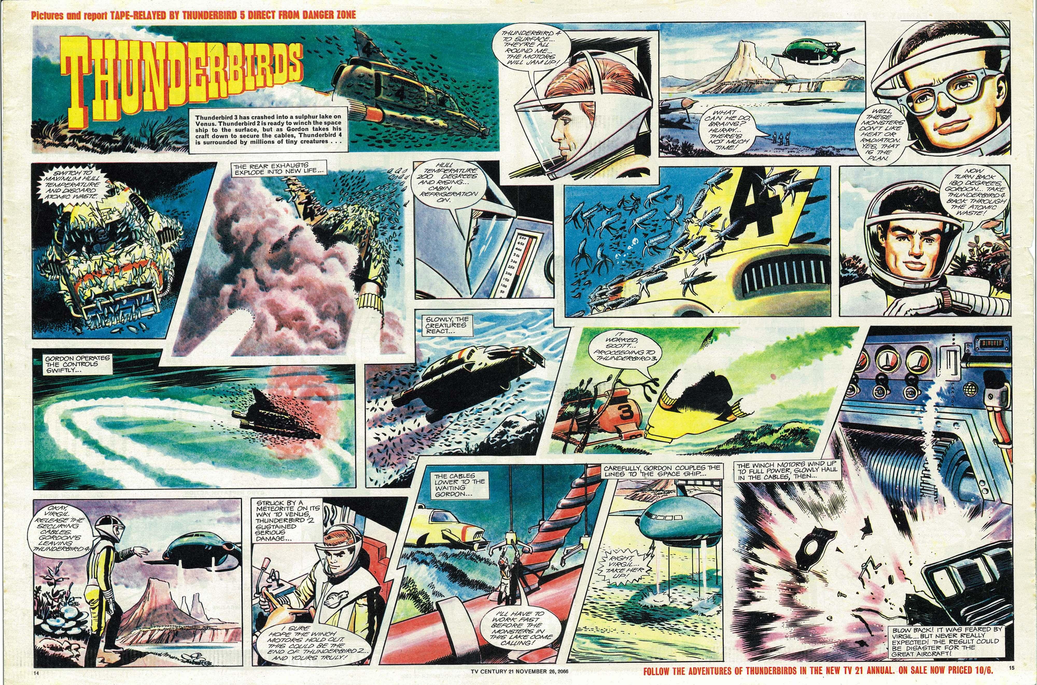 Read online TV Century 21 (TV 21) comic -  Issue #97 - 14