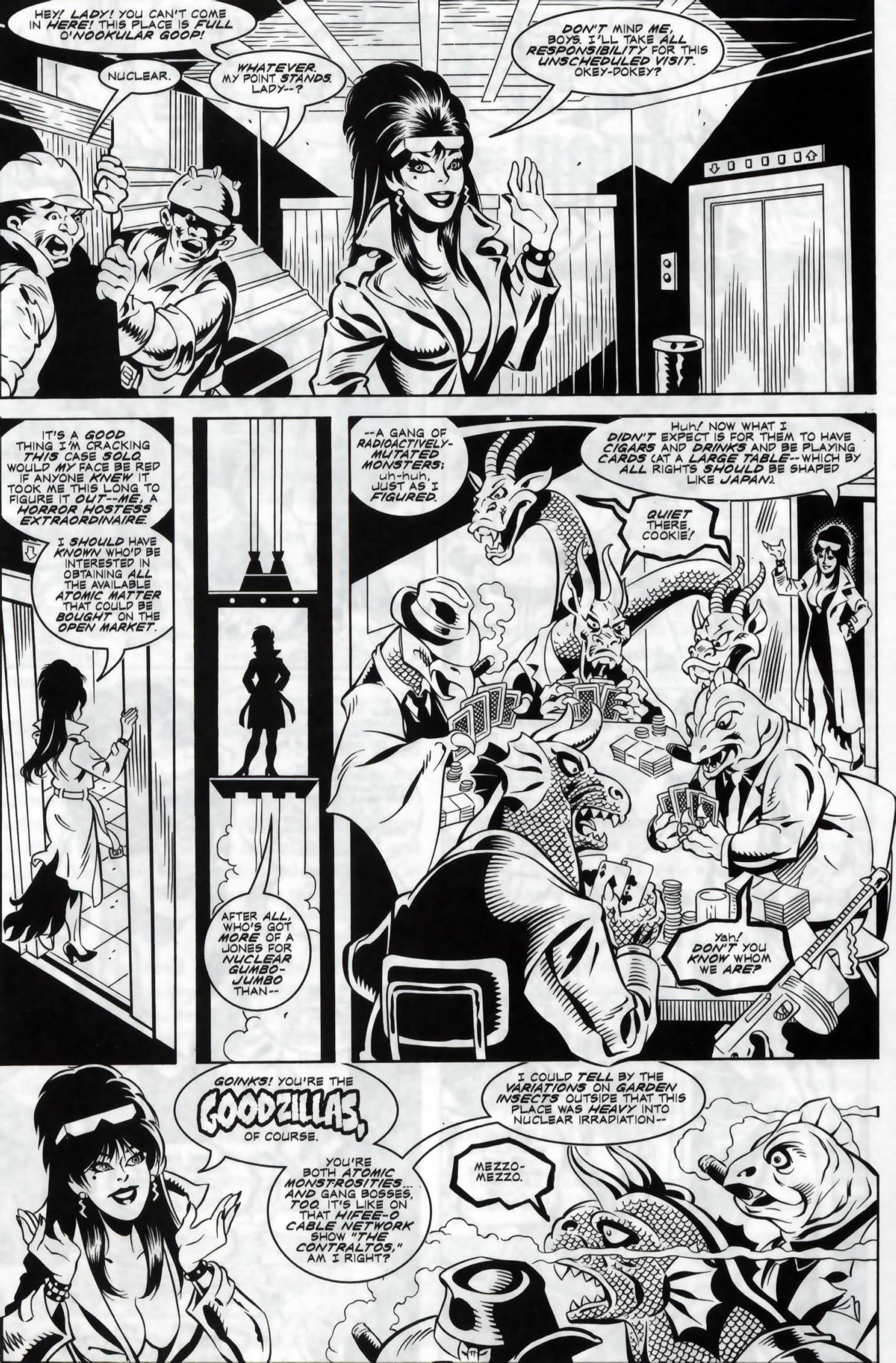 Read online Elvira, Mistress of the Dark comic -  Issue #120 - 24