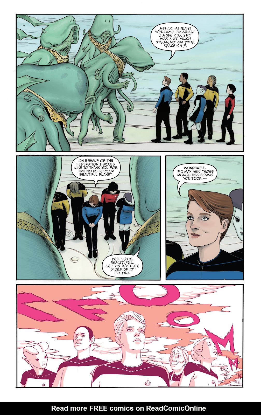 Read online Star Trek: Waypoint Special 2019 comic -  Issue # Full - 25