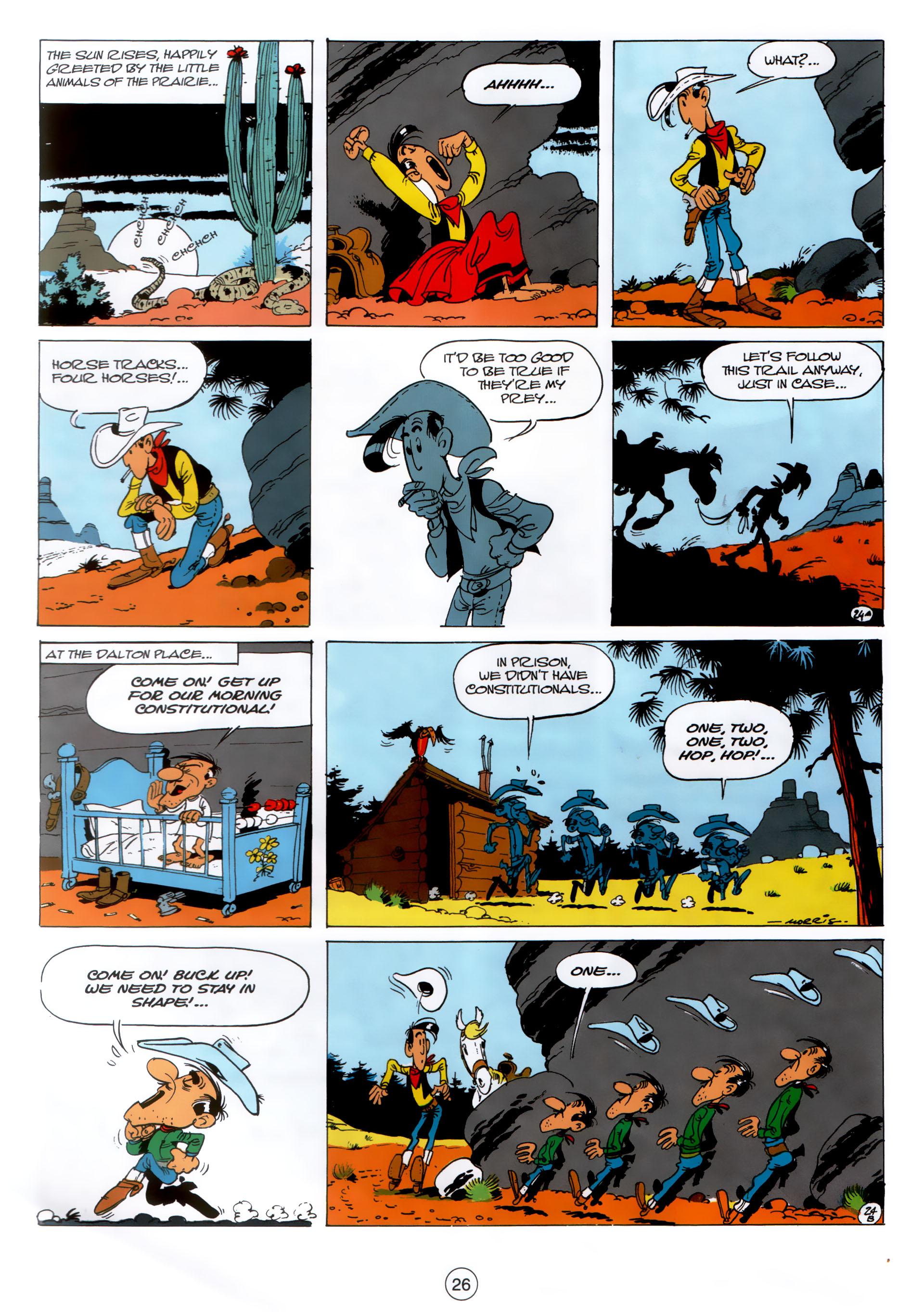 Read online A Lucky Luke Adventure comic -  Issue #30 - 25