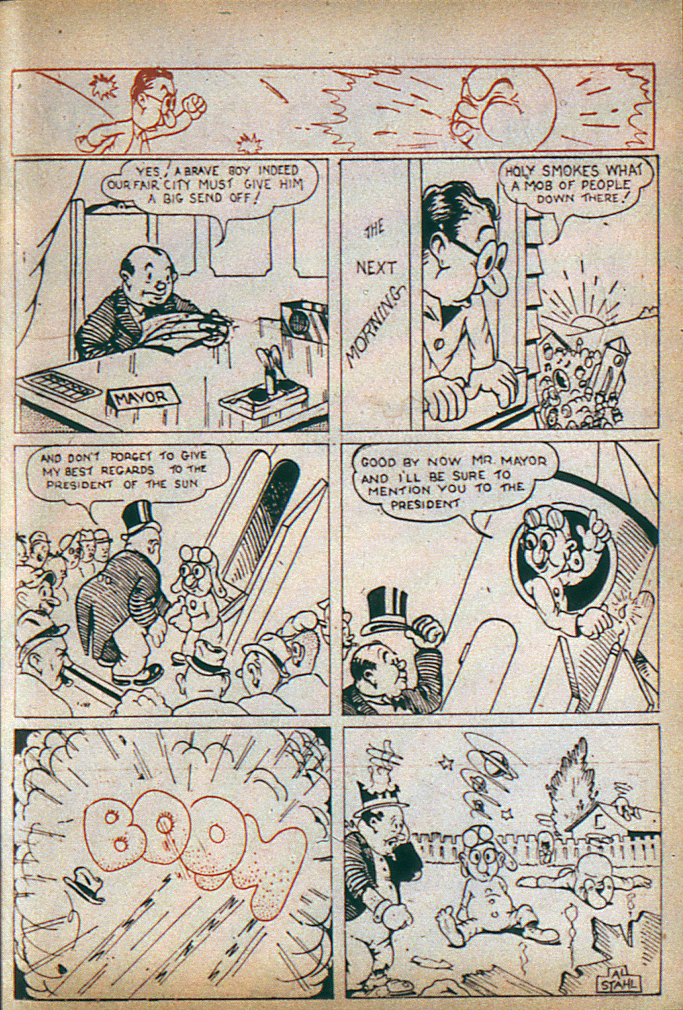 Read online Adventure Comics (1938) comic -  Issue #6 - 24
