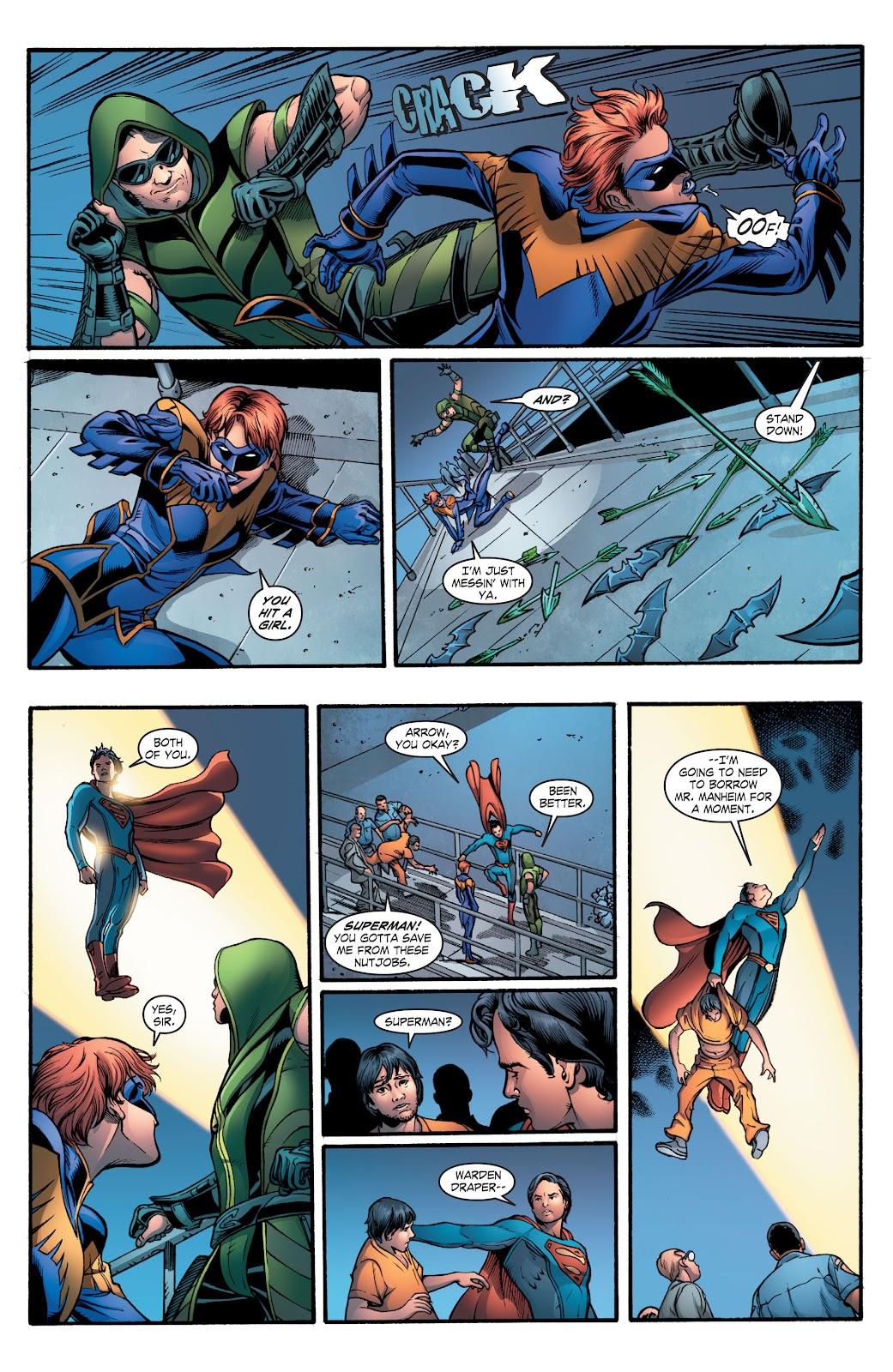 Read online Smallville Season 11 [II] comic -  Issue # TPB 2 - 48