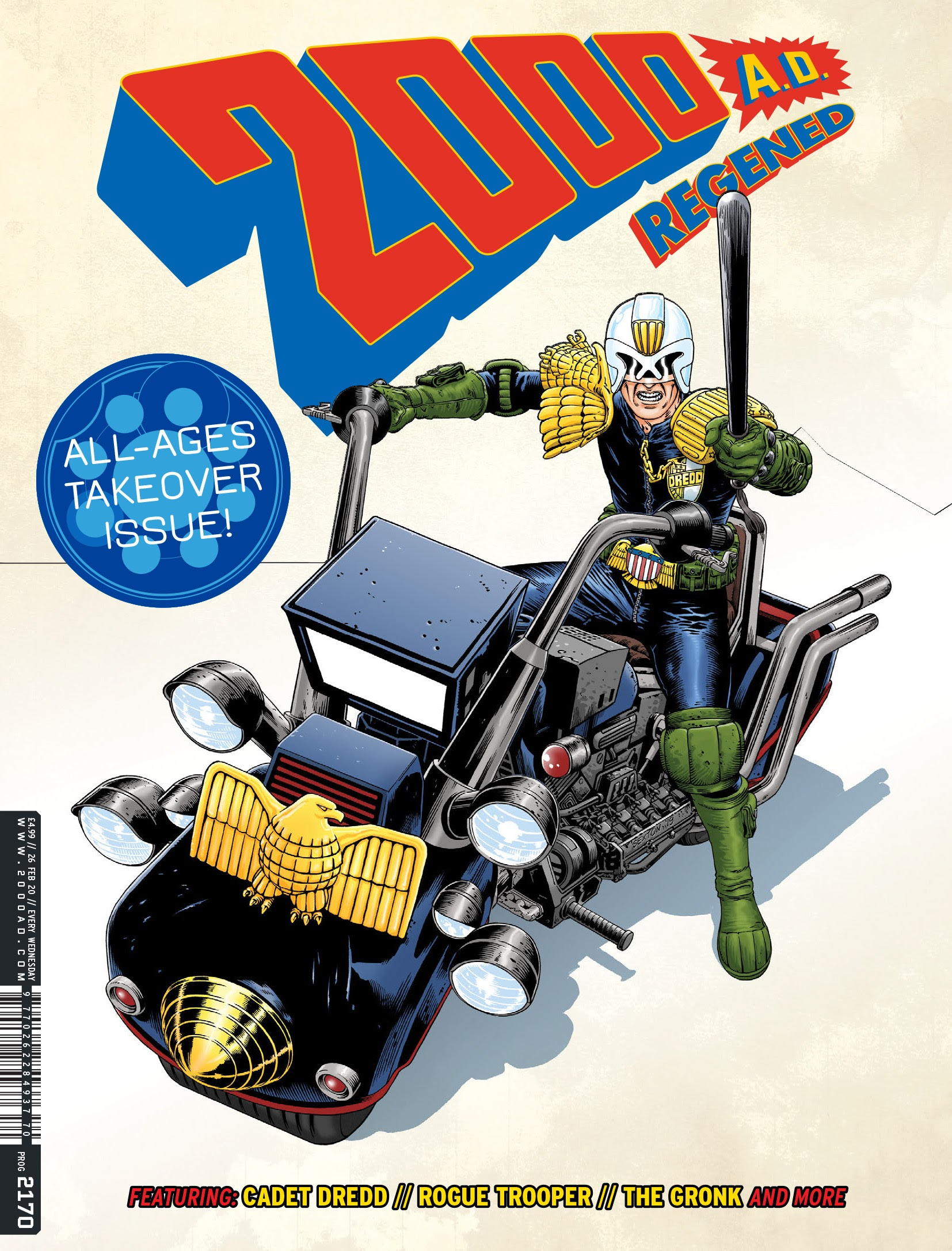 2000 AD 2170 Page 1
