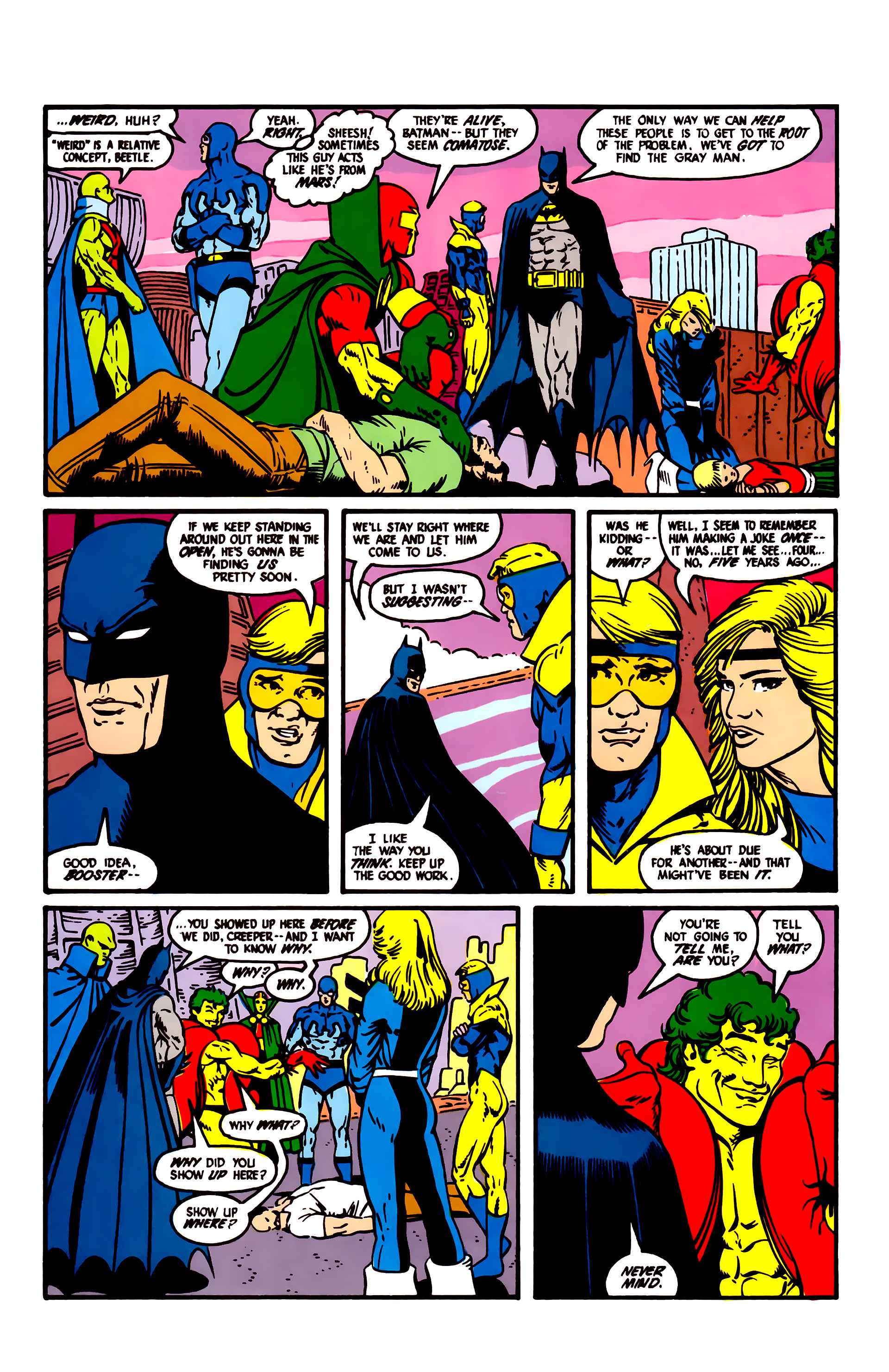 Read online Justice League (1987) comic -  Issue #6 - 7