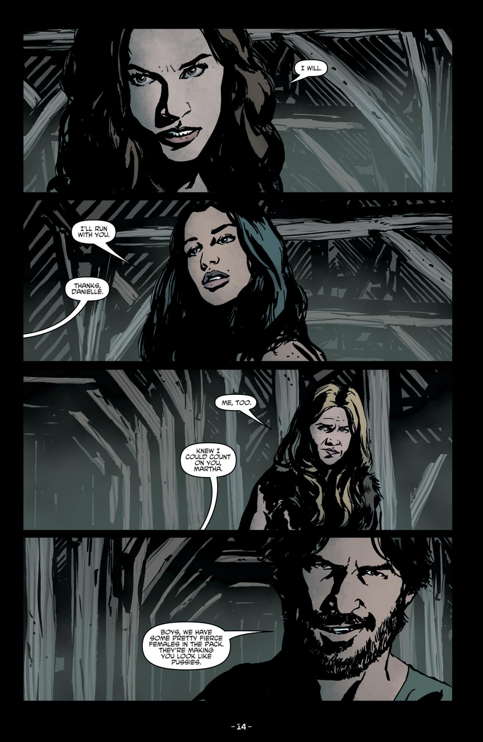 Read online True Blood (2012) comic -  Issue #8 - 16