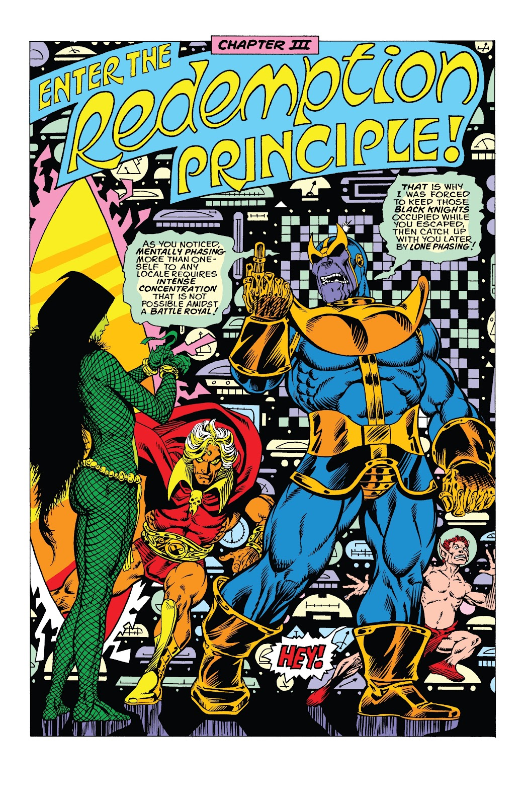 Read online Marvel Tales: Thanos comic -  Issue # Full - 18