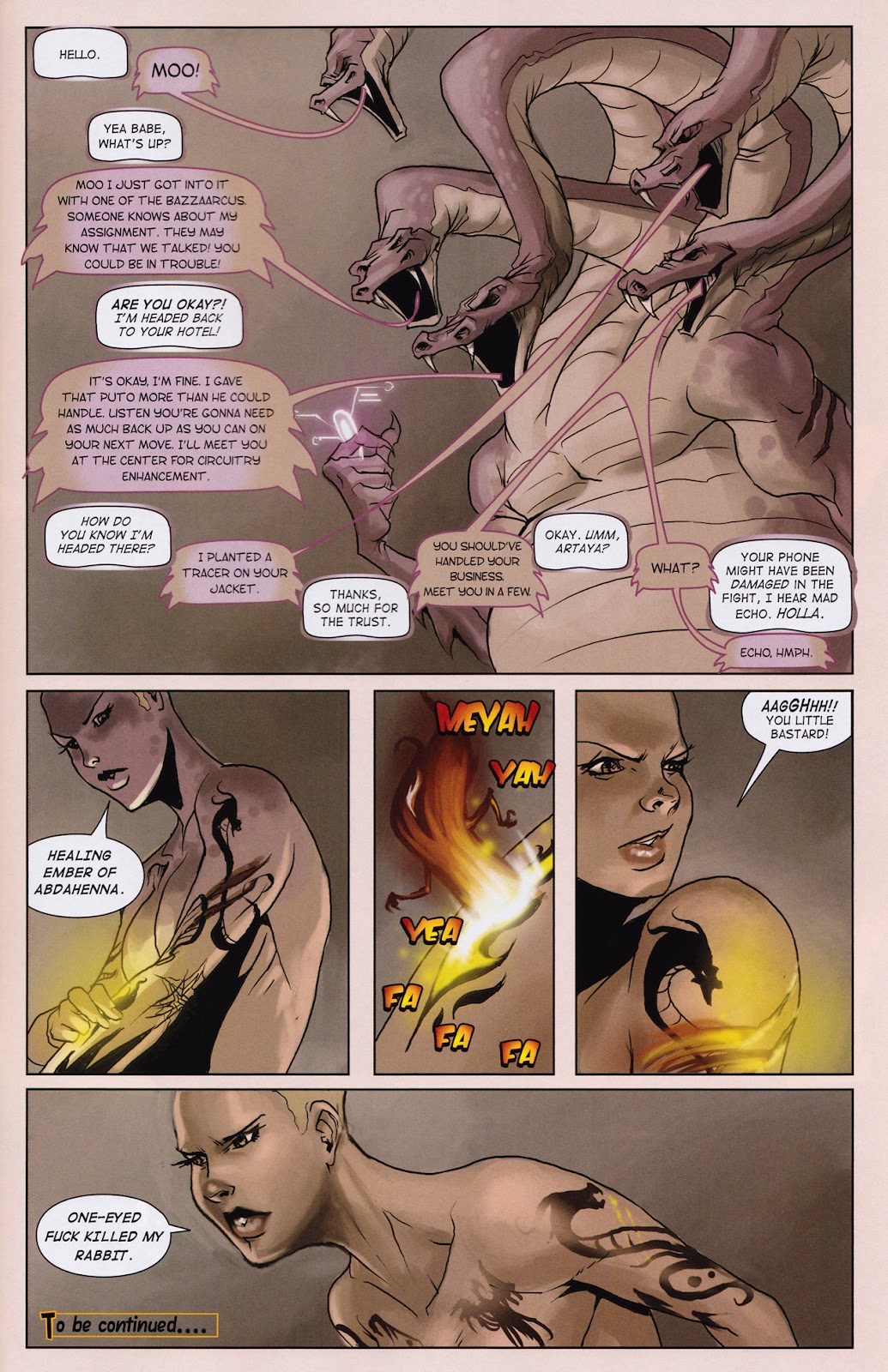 Read online Vescell comic -  Issue #2 - 33