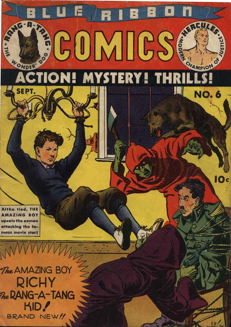 Blue Ribbon Comics (1939) 6 Page 1