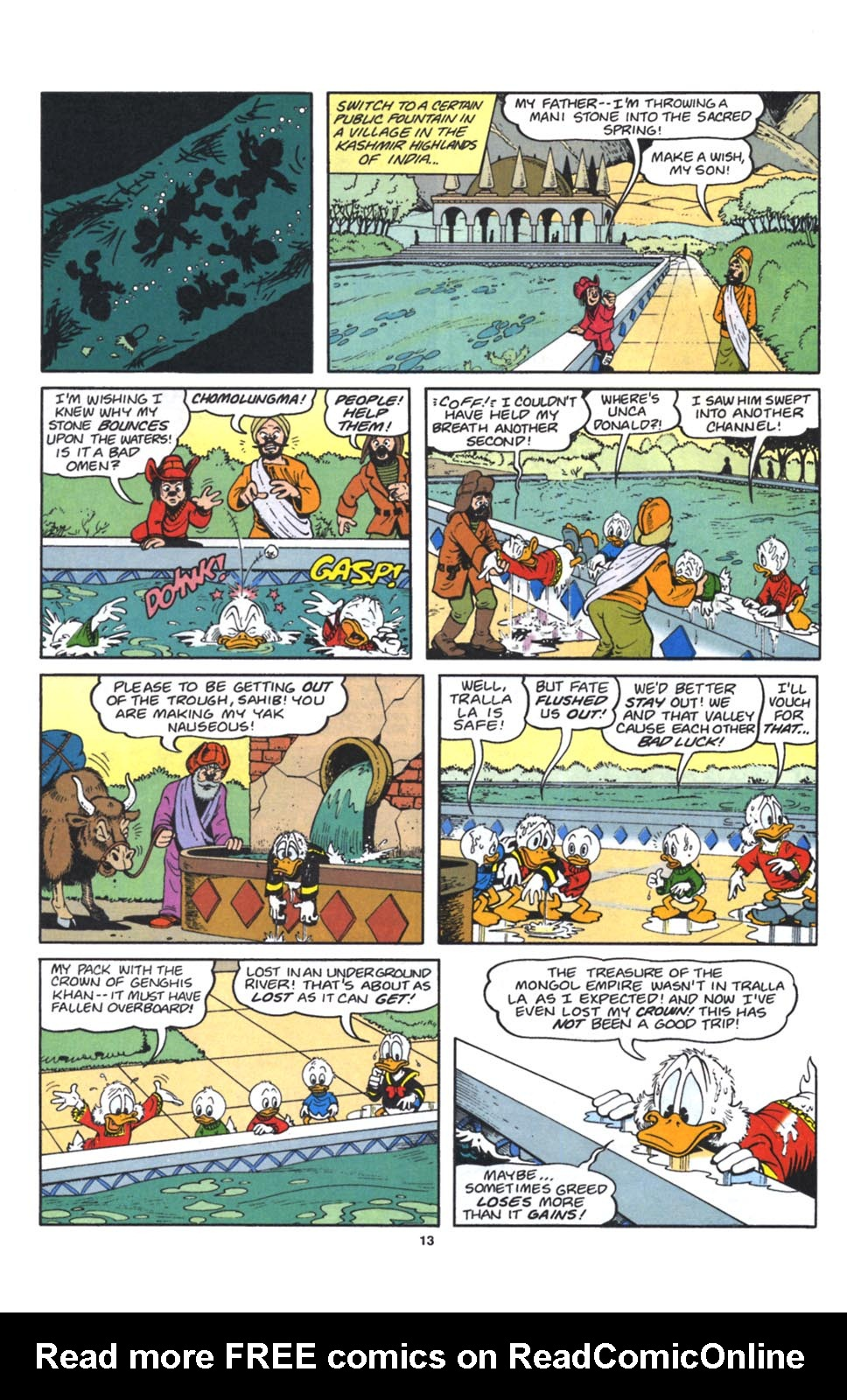 Read online Uncle Scrooge (1953) comic -  Issue #262 - 14