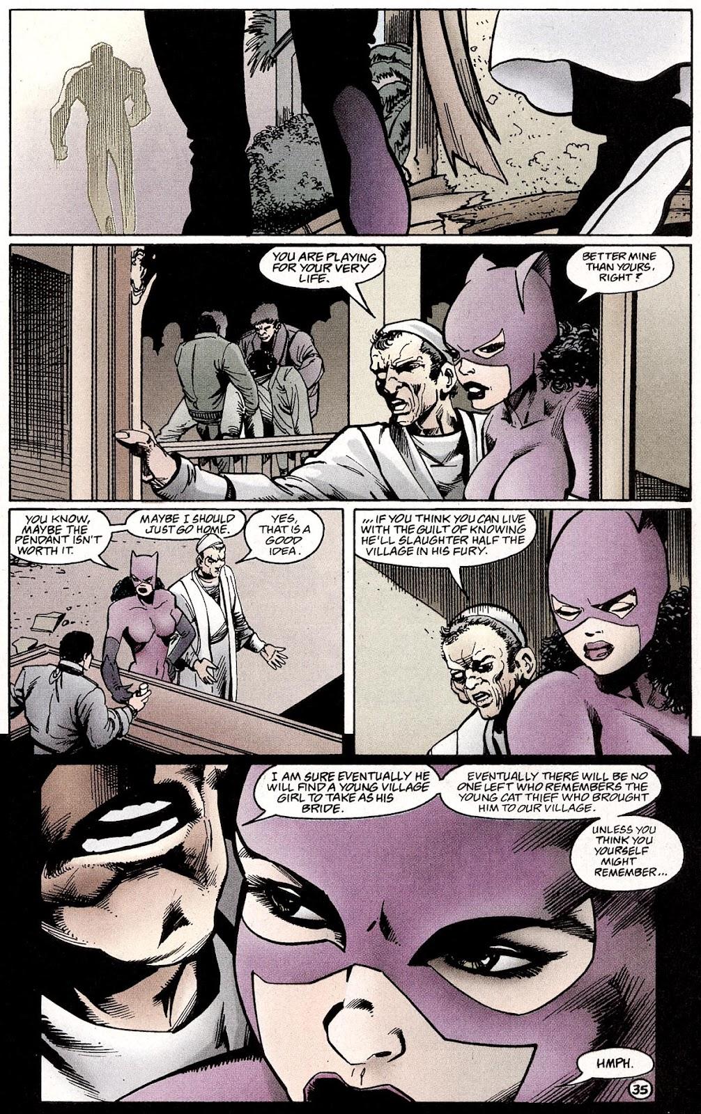 Catwoman (1993) Annual 4 #4 - English 37