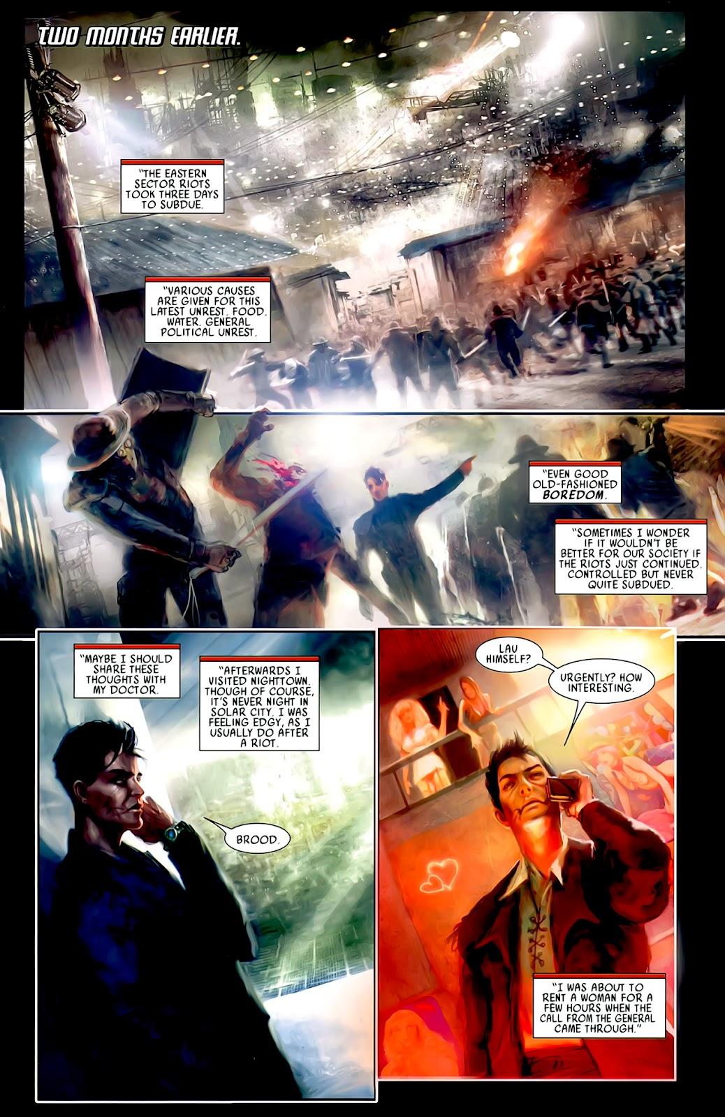 Read online After Dark comic -  Issue #0 - 6